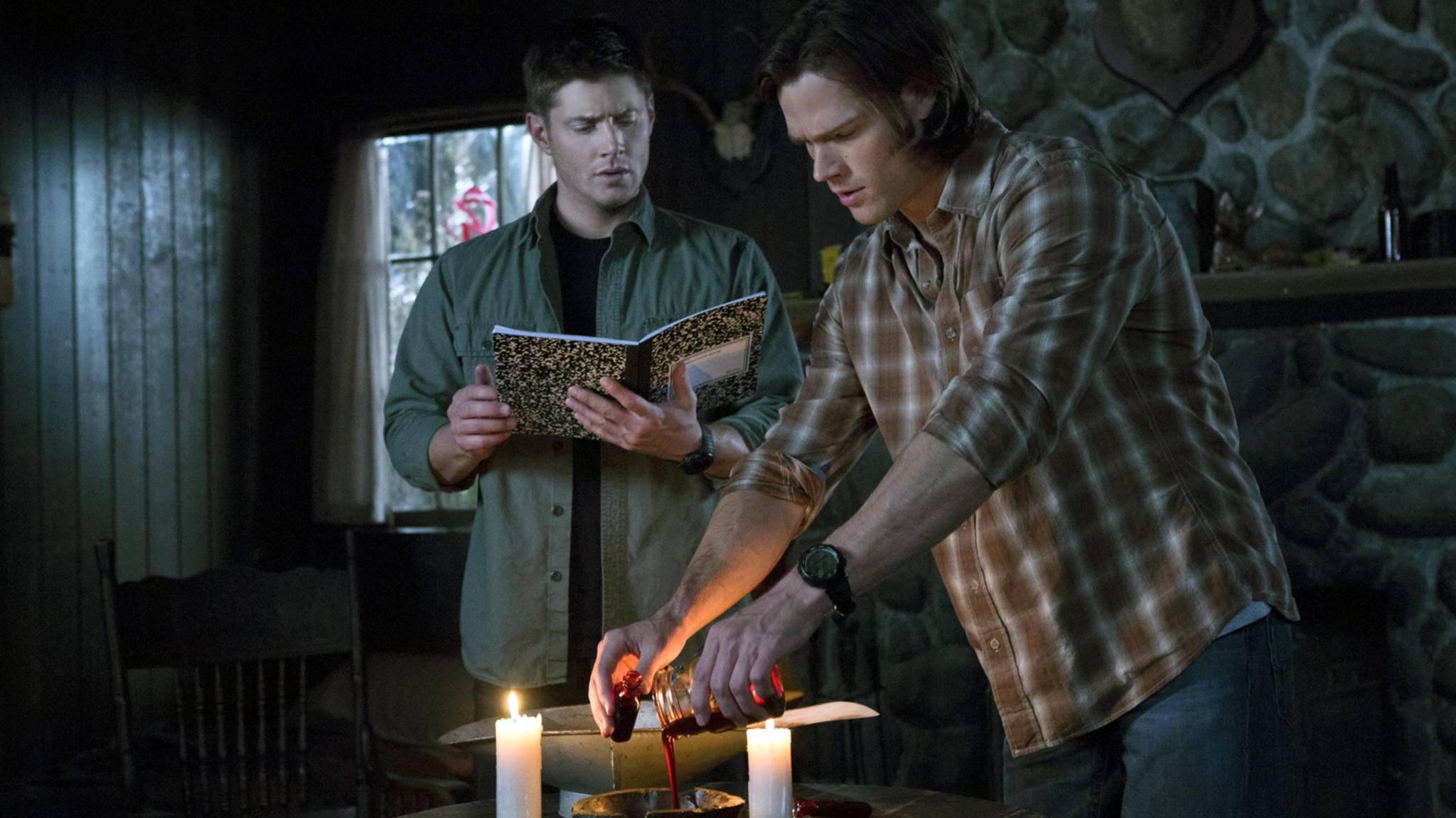 """Keine weiteren Beschwörungsformeln nötig: The CW hat endlich den Termin für das """"Supernatural""""-Finale verraten."""