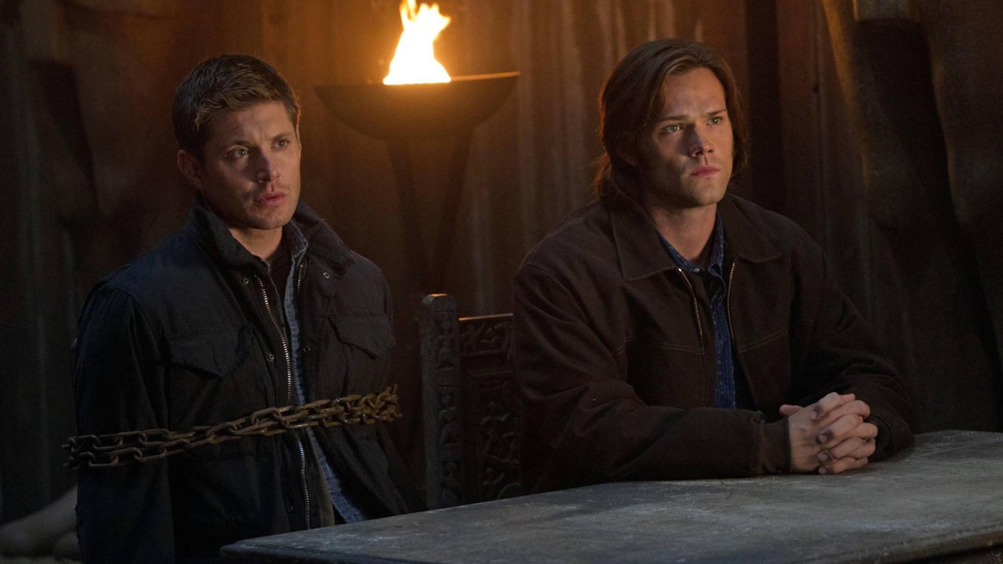 """Sam und Dean Winchester werden die """"Supernatural""""-Fans wohl noch weit über Staffel 14 hinaus an ihre (Fernseh-)Stühle fesseln."""