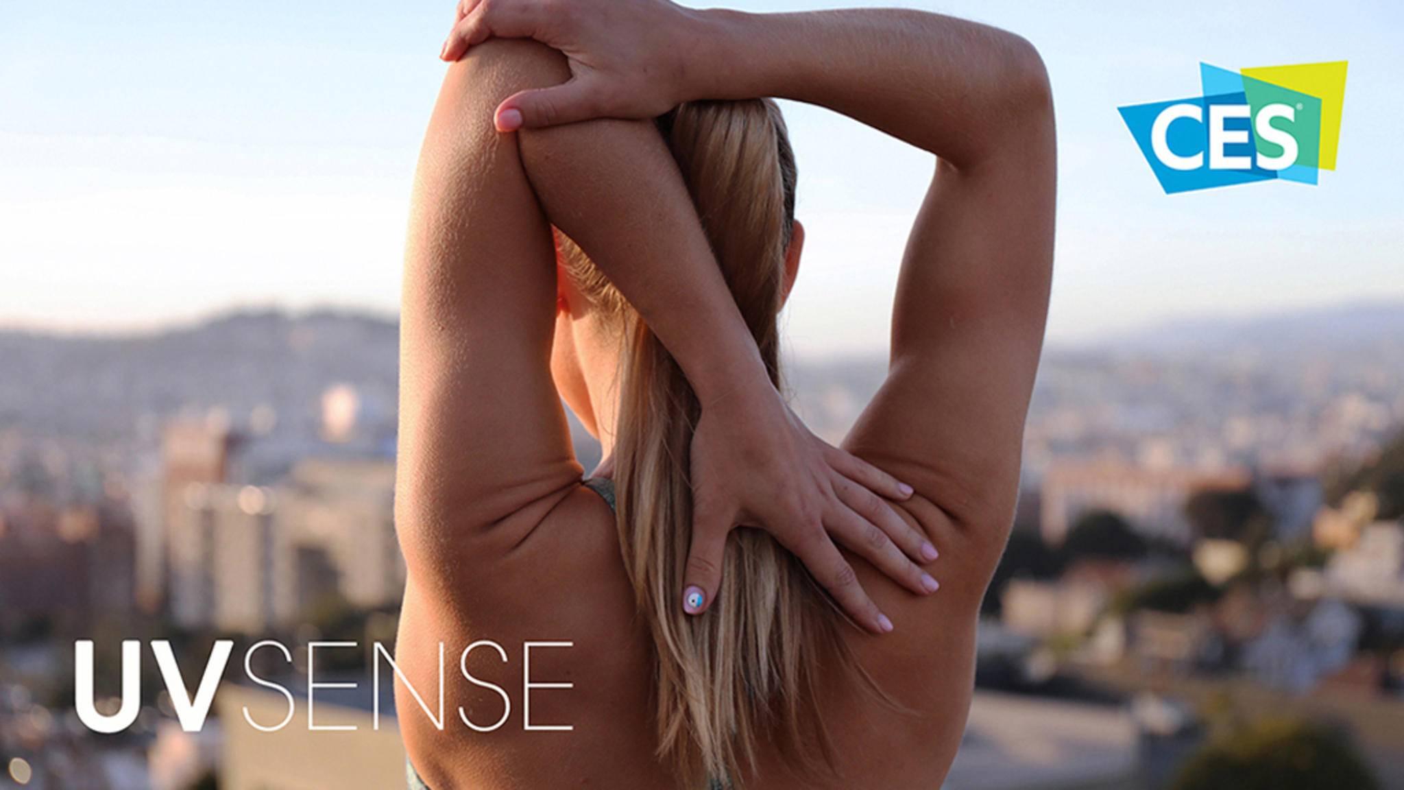 Der winzige UV-Sensor von L'Oréal soll seine User für den Sonnenschutz sensibilisieren.