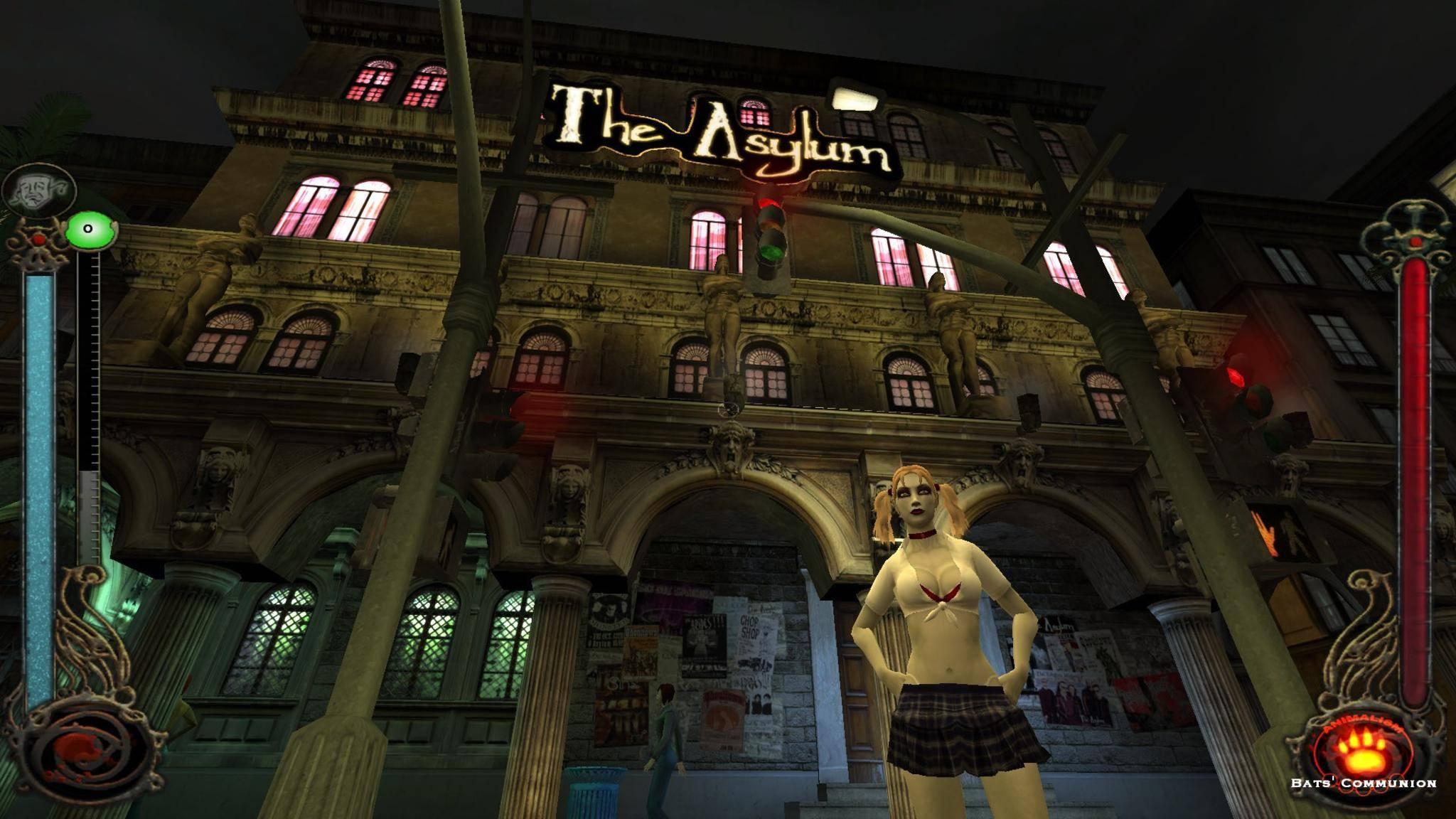 """""""Vampire: The Masquarade – Bloodlines"""" kam verbuggt auf den Markt und musste es mit """"Half-Life 2"""" aufnehmen."""