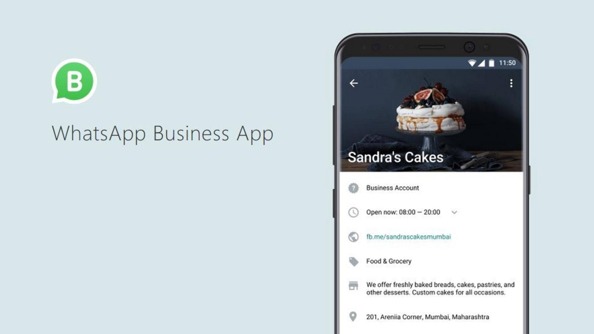 Unternehmen können jetzt per WhatsApp Business mit Kunden kommunizieren.