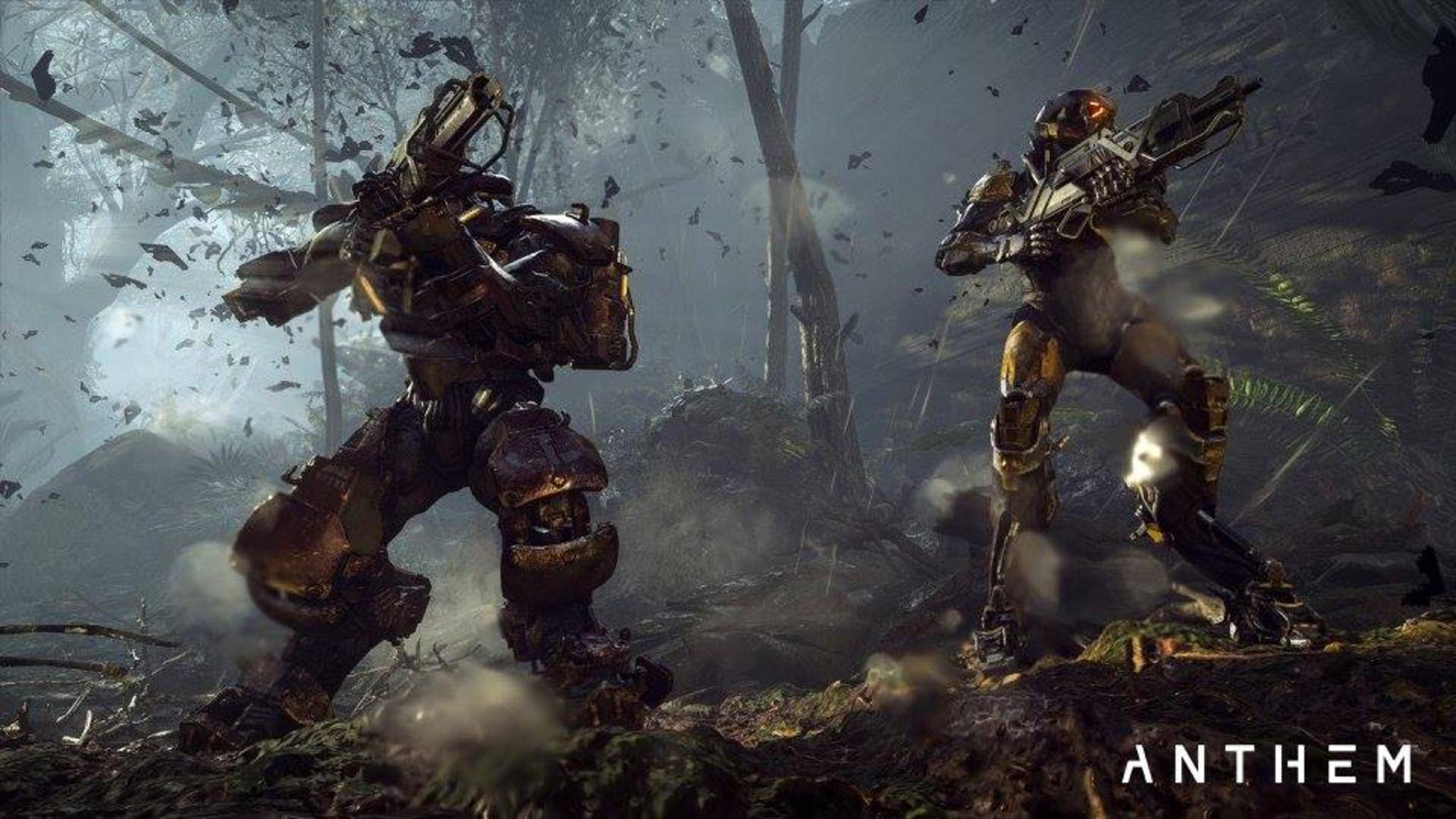 """Strong alone, stronger together"": Das Motto der Freelancerin ""Anthem"" hat auch Einfluss aufs Gameplay."