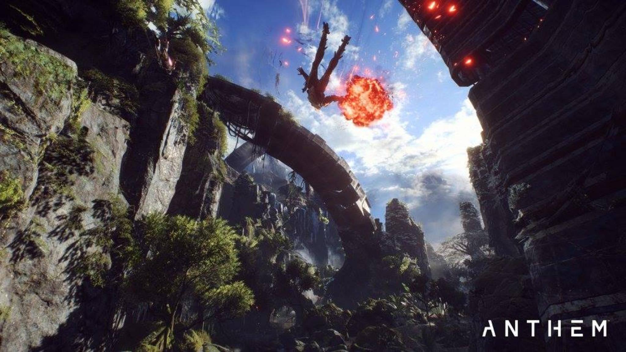 """Fans vermuten einen Zusammenhang zwischen """"Anthem"""" und """"Mass Effect""""."""