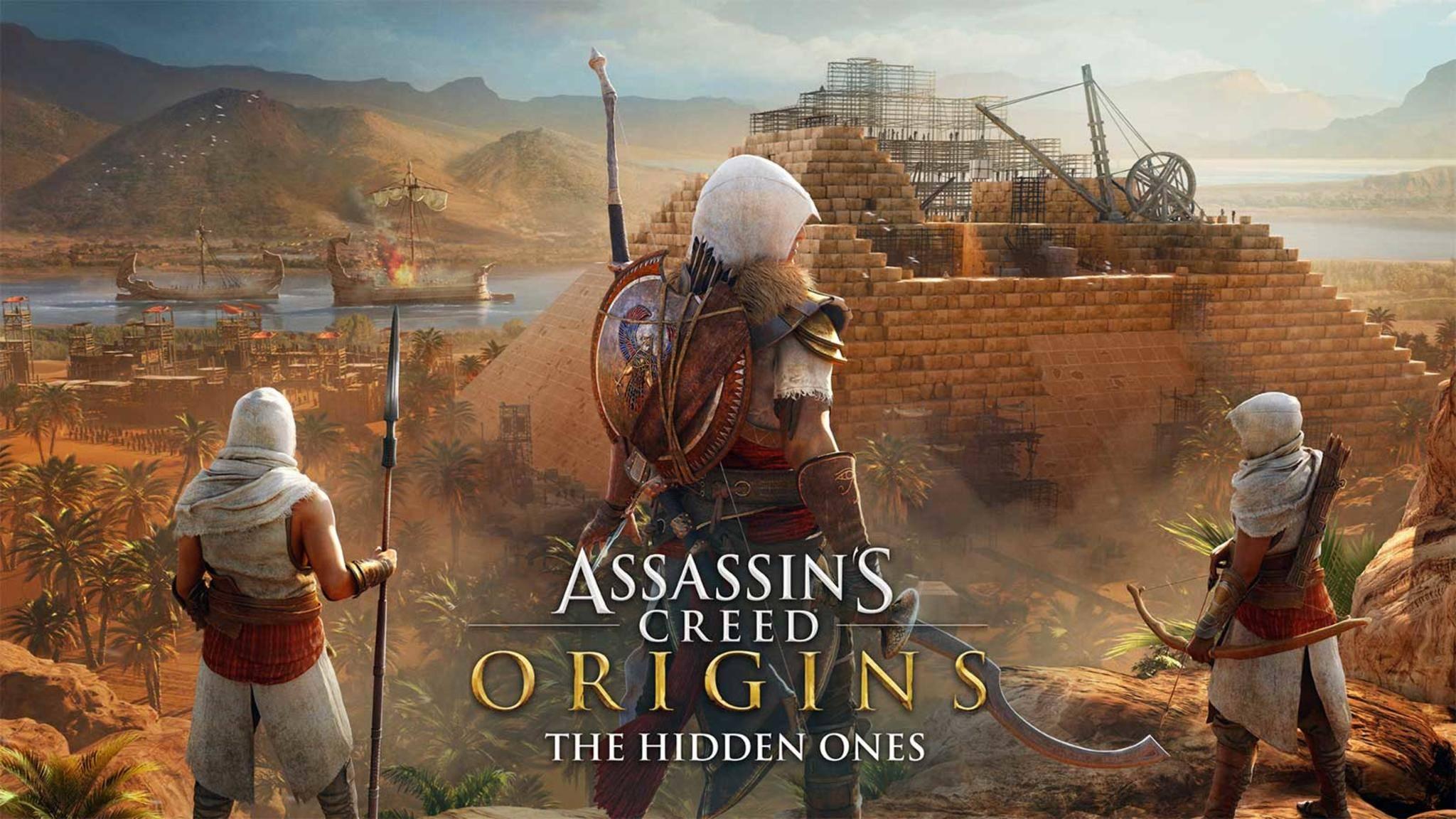 """Assassin's Creed: Origins"" bekommt bald ein großes Inhalts-Update."
