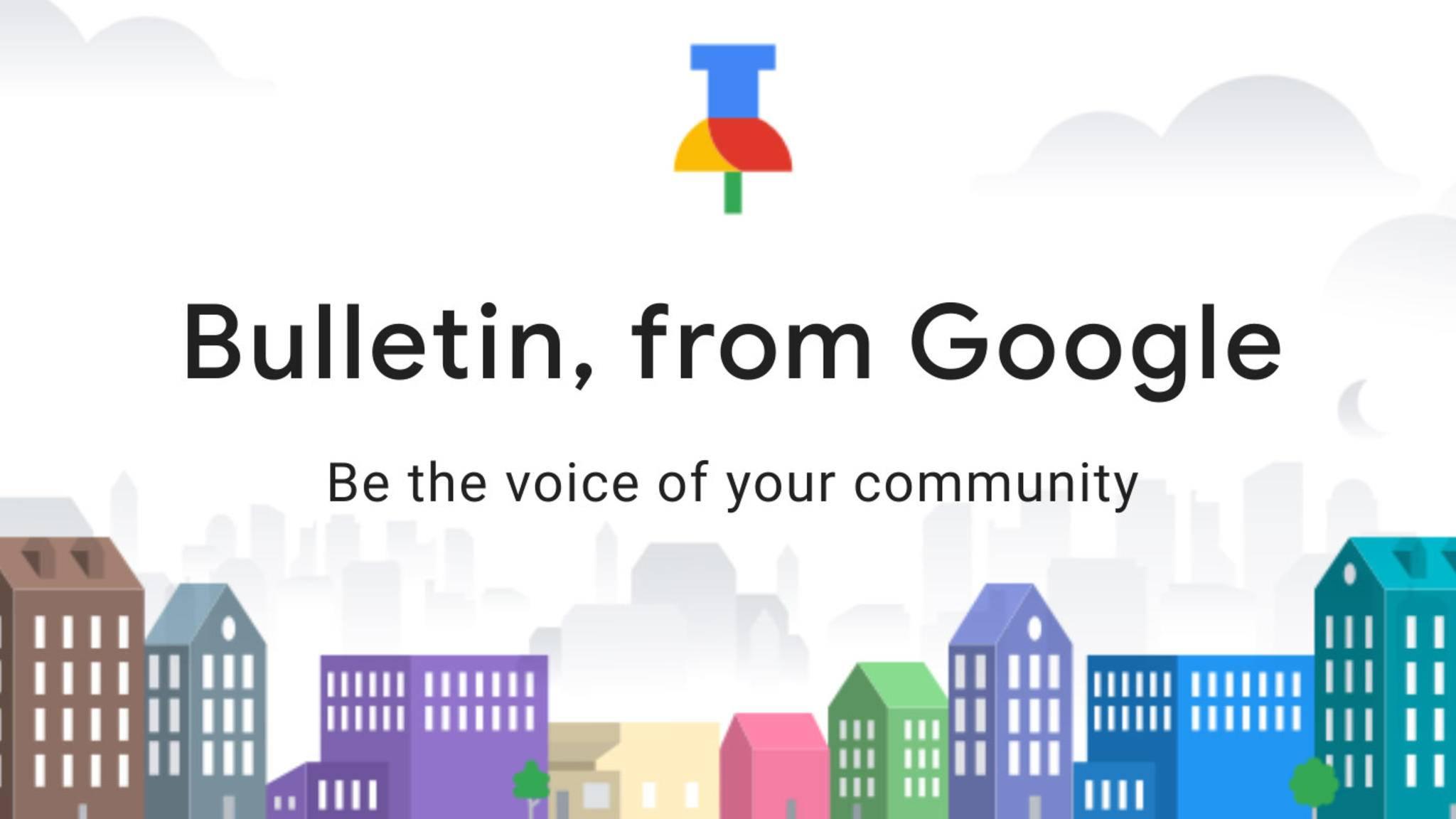 Lokal ist wieder in, denkt sich offenbar auch Google mit der neuen App Bulletin.