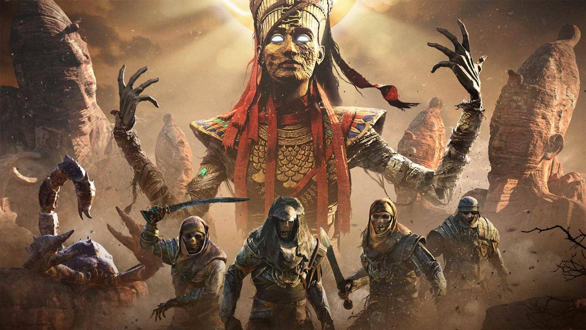 """Ubisoft hat neue Infos zum """"Assassins's Creed: Origins""""-DLC """"Der Fluch der Pharaonen"""" und zur Discovery Tour veröffentlicht."""