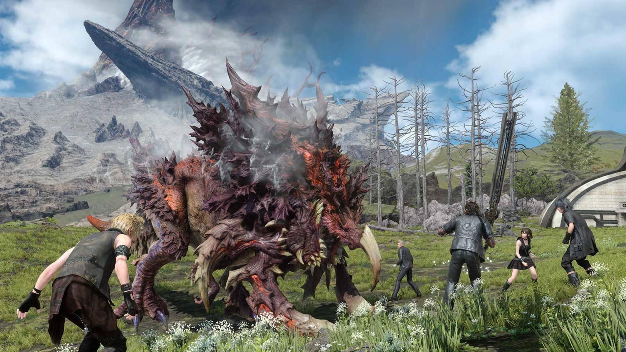 """Die Windows-Version von """"Final Fantasy 15"""" wurde auf der Gamescom 2017 vorgestellt."""