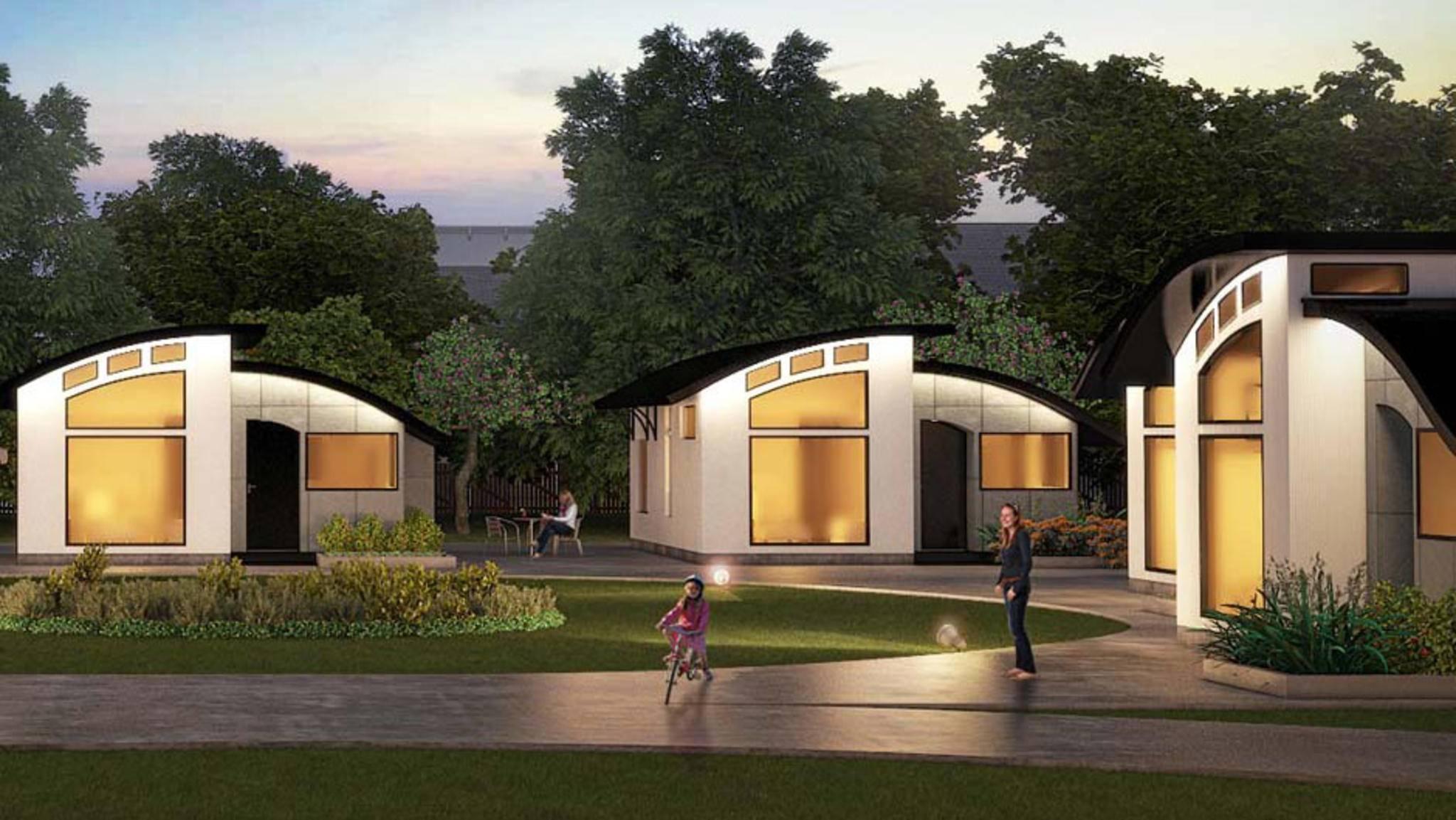 Das Flex House vereint schönes Design, nachhaltiges Leben und vernetzte Smart-Home-Technik.