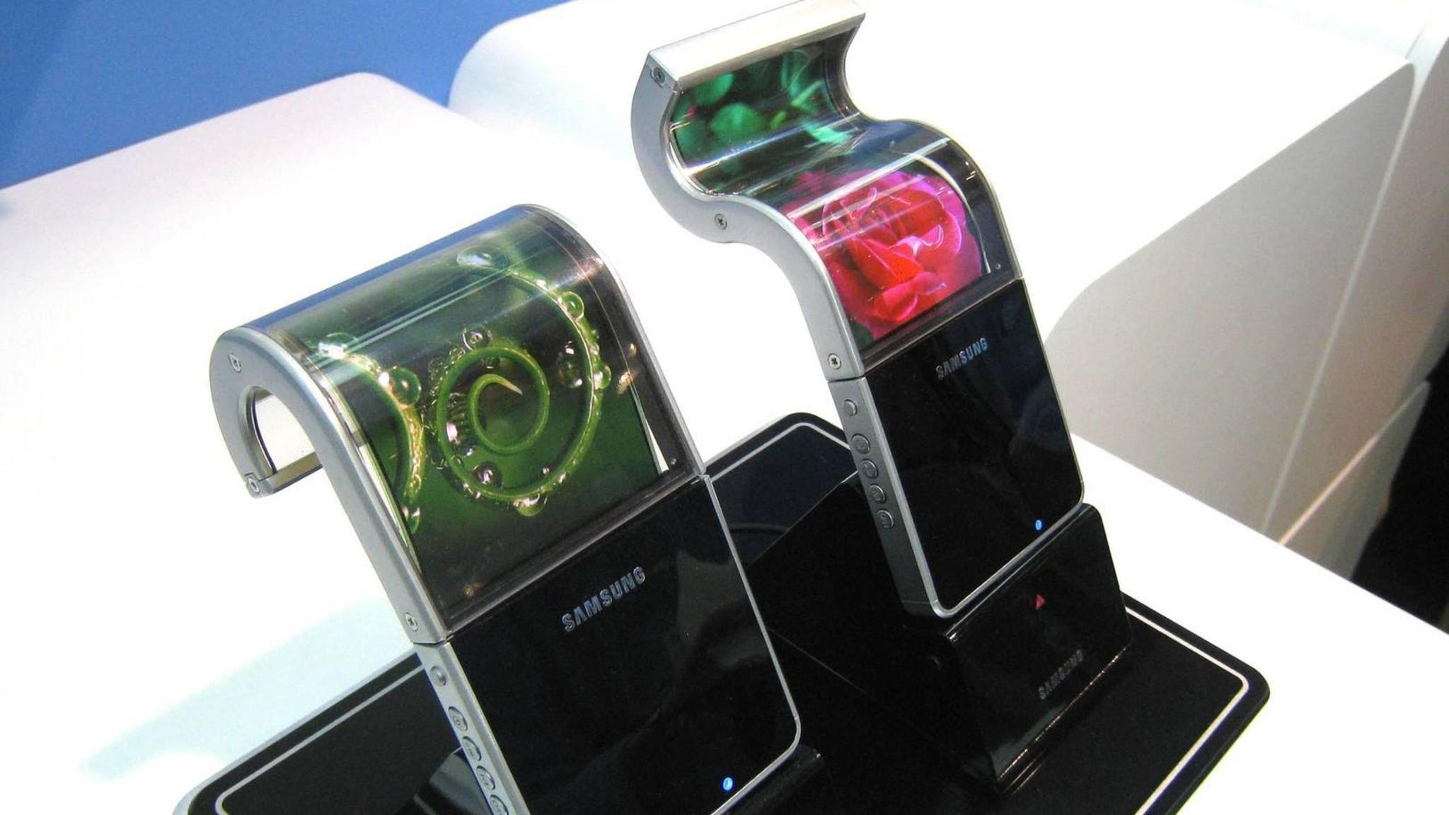 Der praktische Nutzen des Galaxy X (hier ein Protoyp) könnte begrenzt sein.