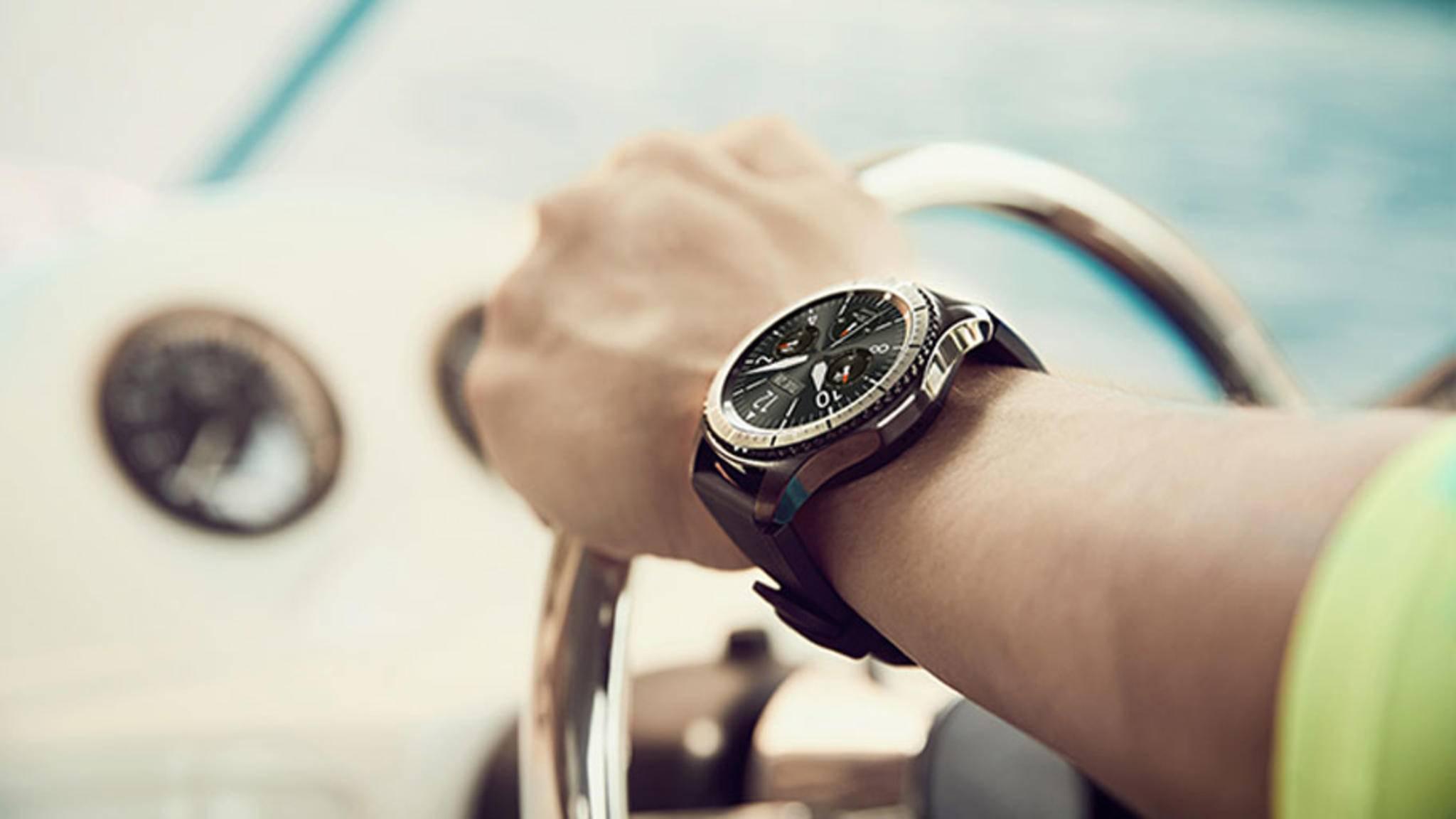 Die Nachfolgerin der Gear S3 könnte den Akku direkt im Armband integriert haben.