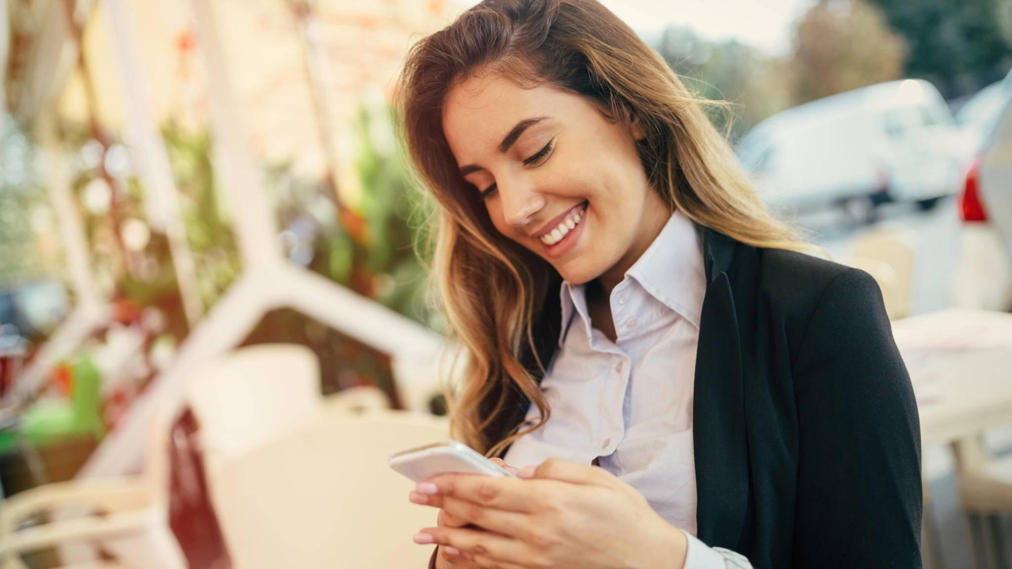 Apps können einem dabei helfen, die guten Vorsätze einzuhalten.