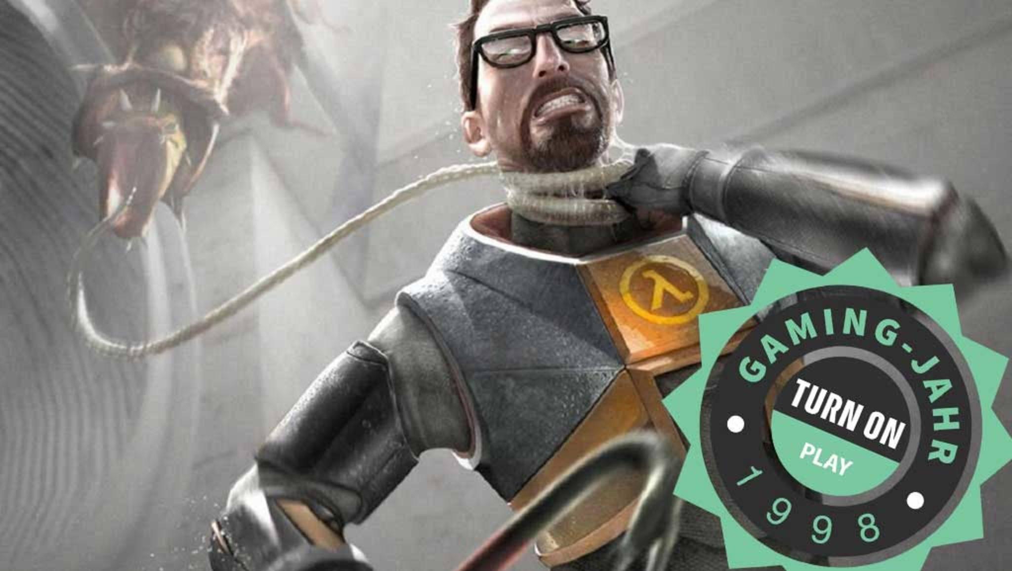 "Guter Jahrgang: ""Half-Life"" revolutionierte 1998 das Shooter-Genre."