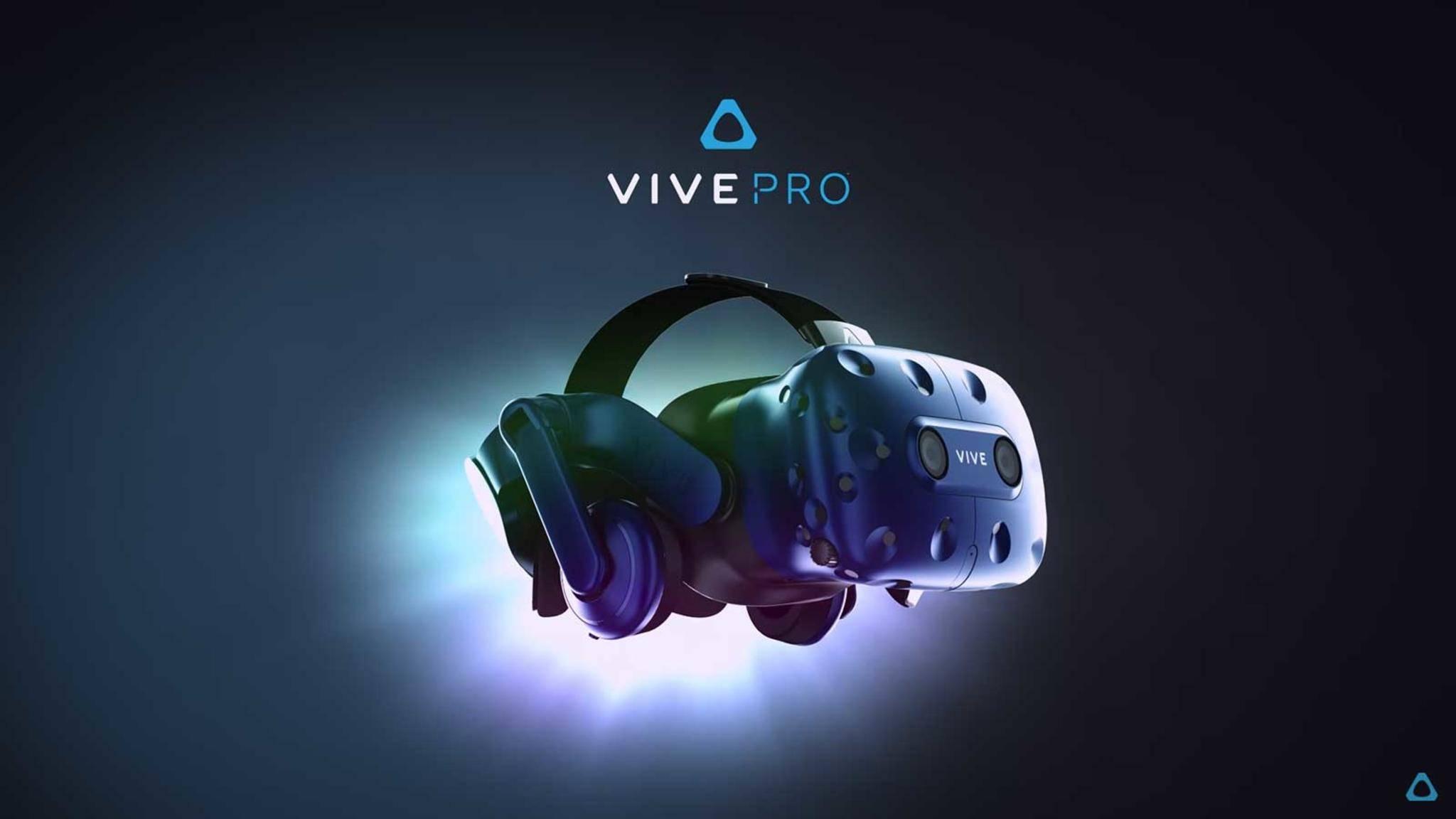 HTC Vive Pro angekündigt