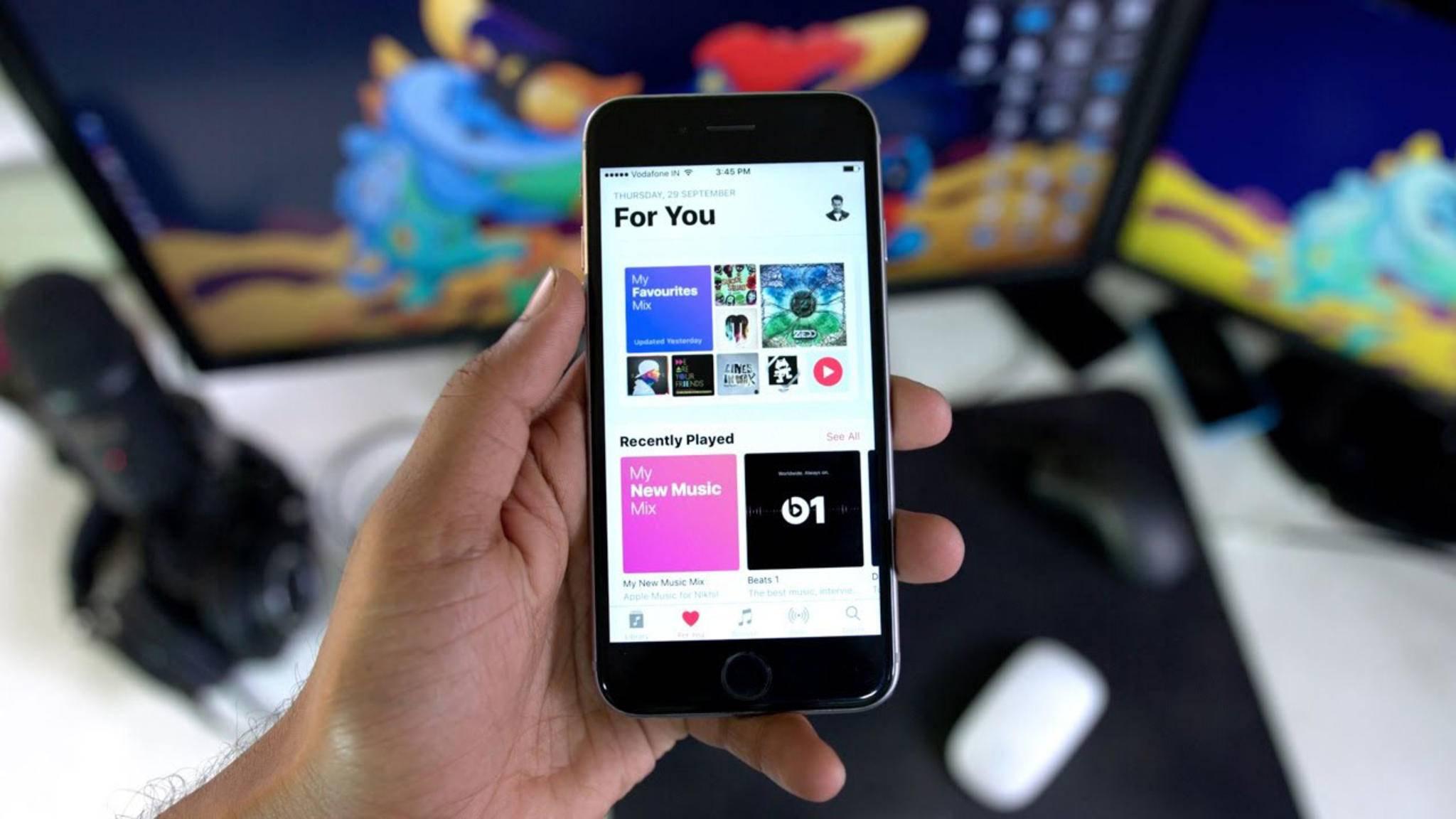 Bietet Apple Music demnächst nur noch einen Gratis-Monat an?