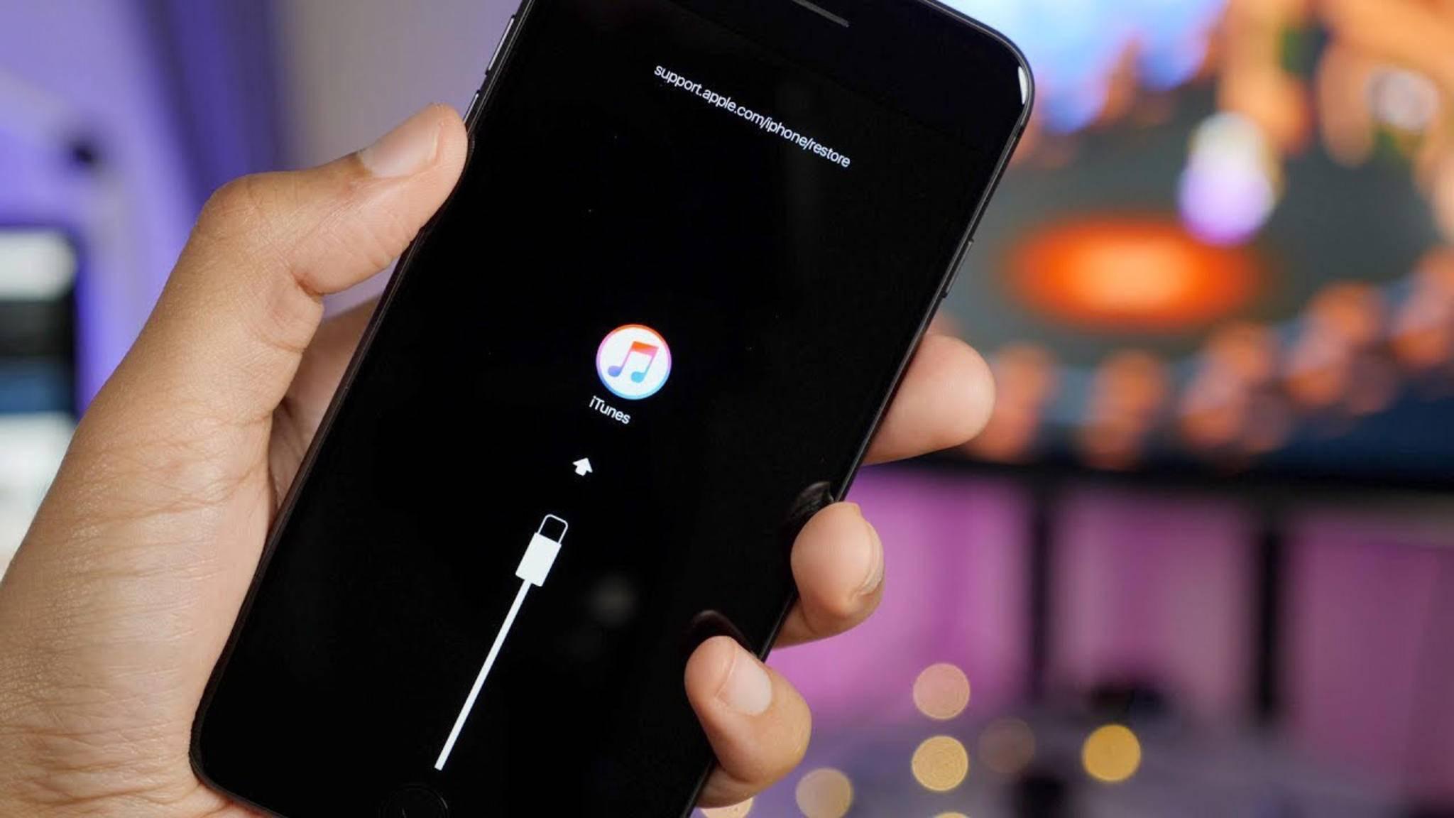 Der Umweg über iTunes für die Systemwiederherstellung könnte künftig entfallen.