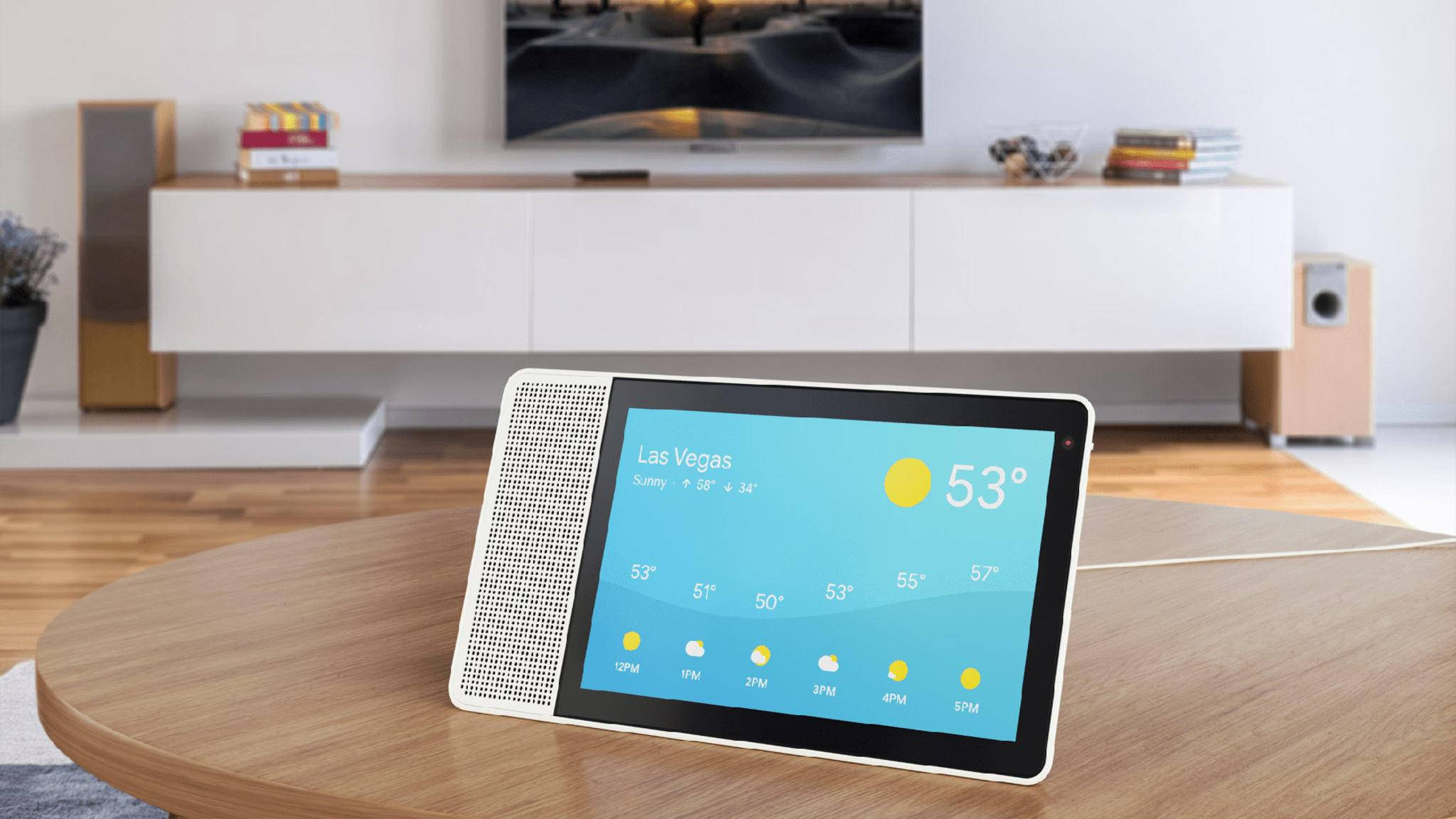 Lenovo will sein erstes Smart Display mit Google Assistant im Sommer ab 200 US-Dollar verkaufen.