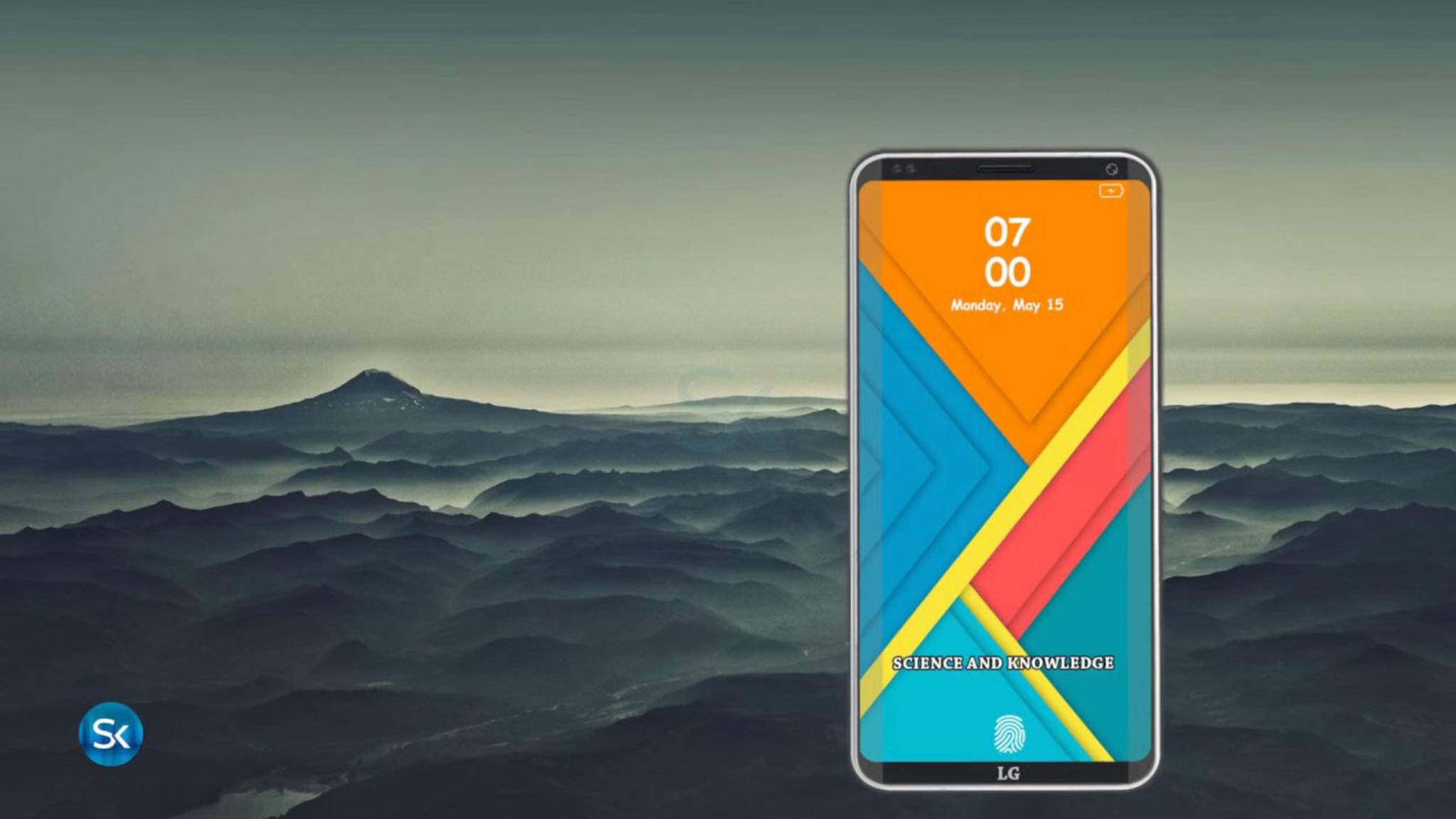 Vielleicht wird das LG G7 doch schon auf dem MWC 2018 enthüllt.