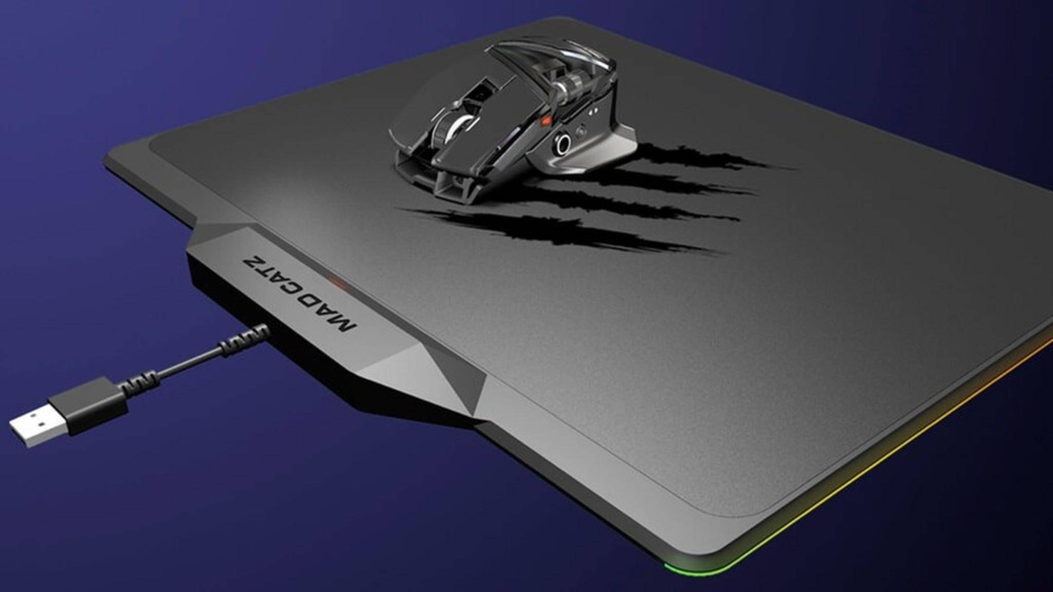 Mad Catz präsentiert Gaming-Maus Rat Air mit Mauspad-Aufladung