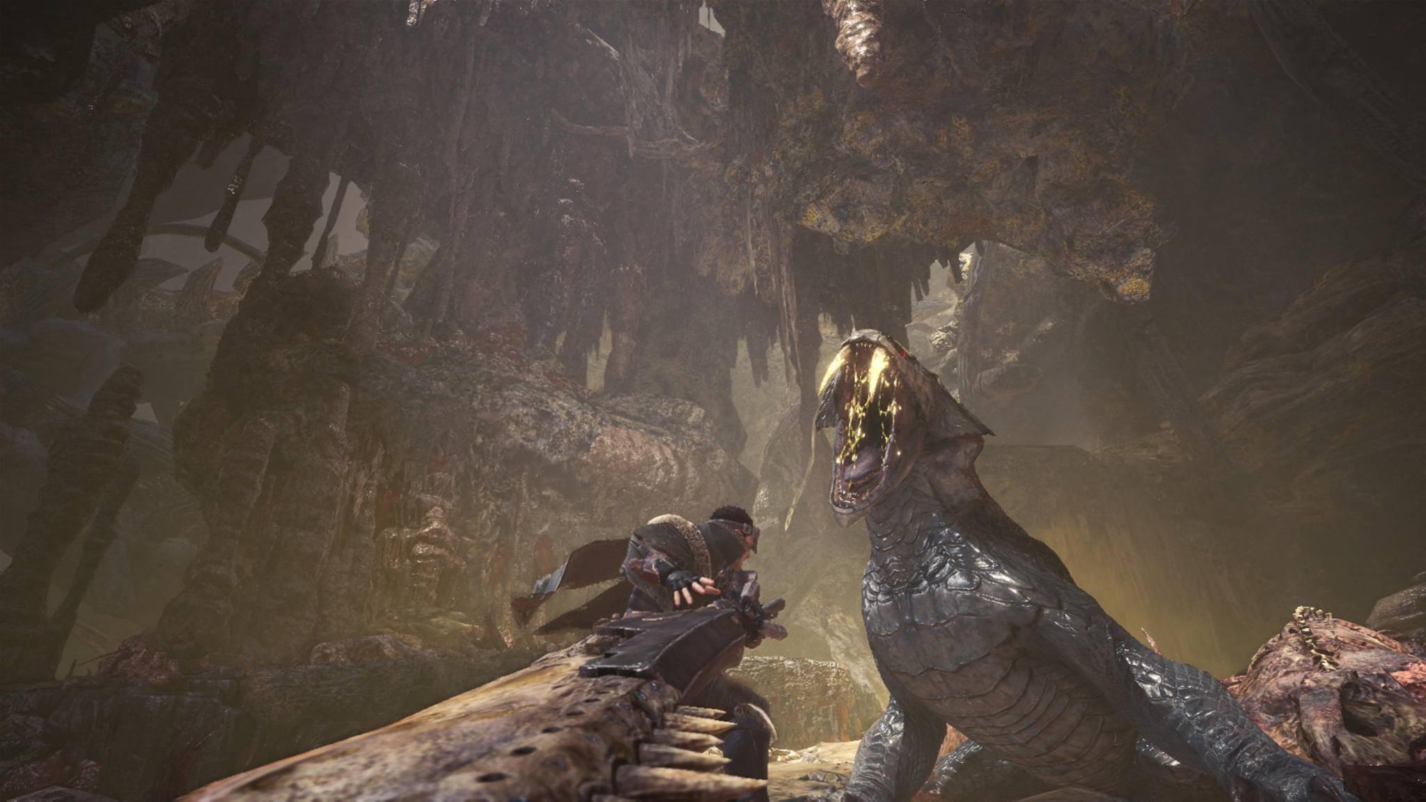 """Zumindest bei der Größe der Schwerter hält sich der """"Monster Hunter""""-Film offenbar schon einmal an die Vorlage-Spiele ..."""