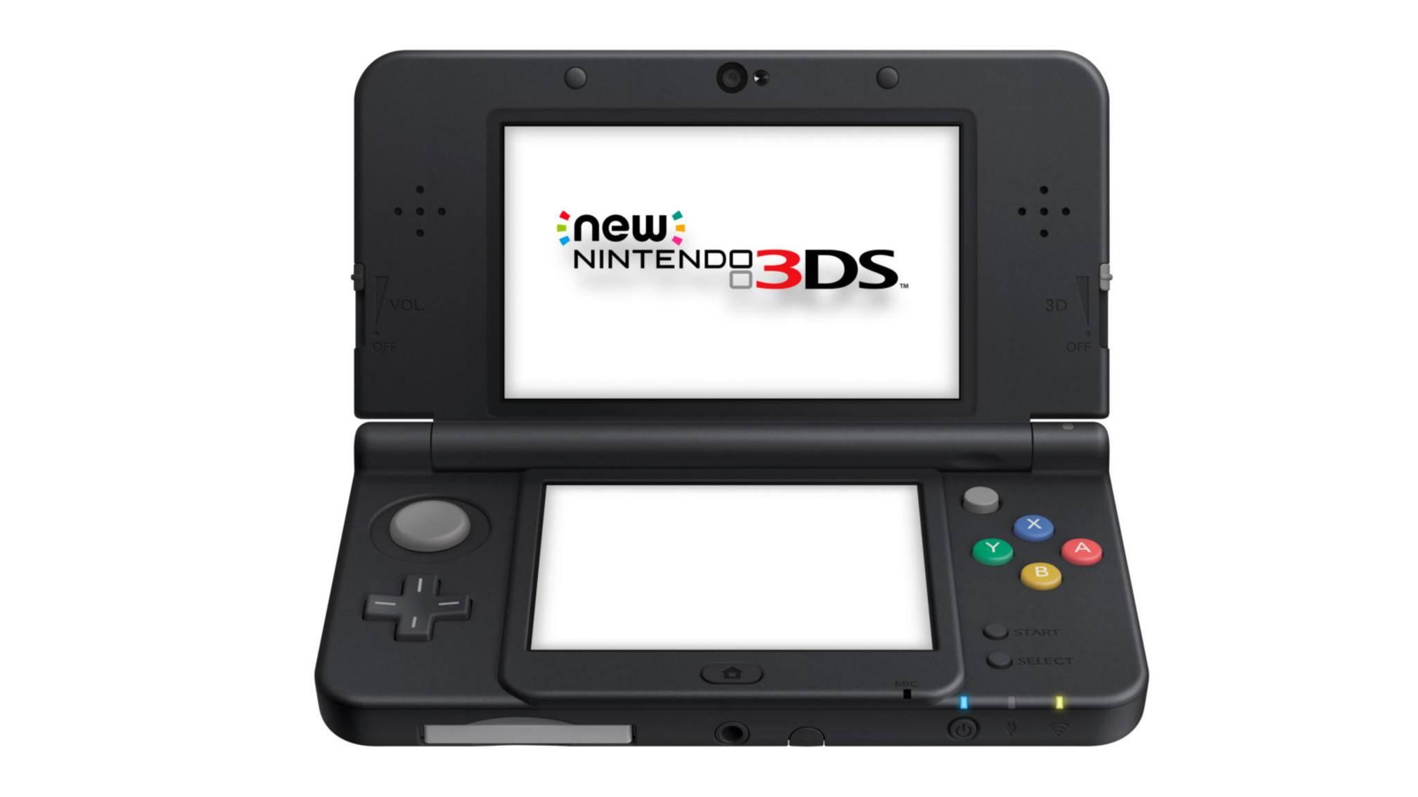 Ikonischer Doppelbildschirm: der Handheld Nintendo 3DS (hier in der Variante New Nintendo 3DS).