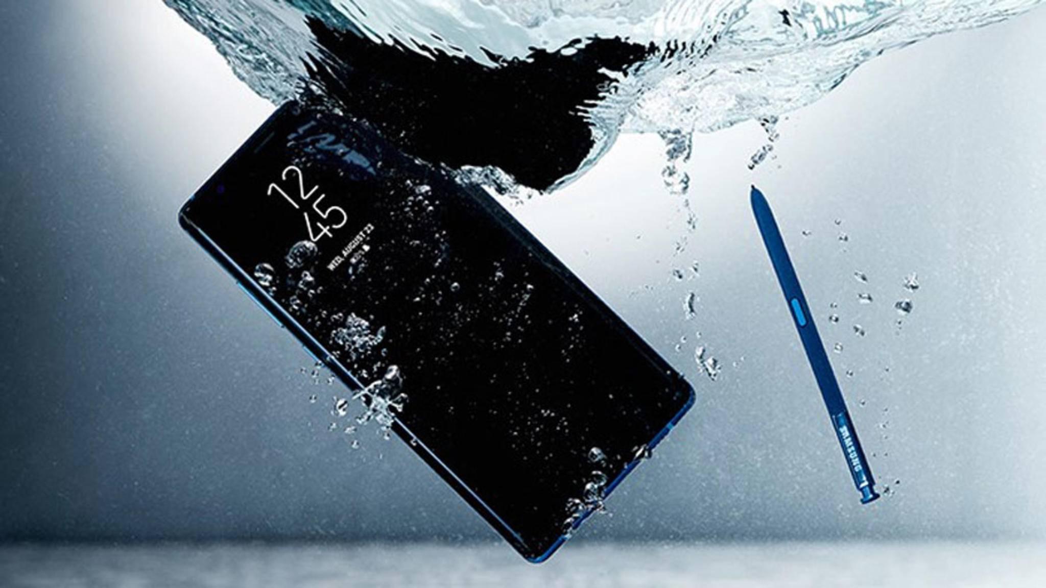 Die meisten Flaggschiff-Smartphones sind mittlerweile gegen Wasser geschützt.