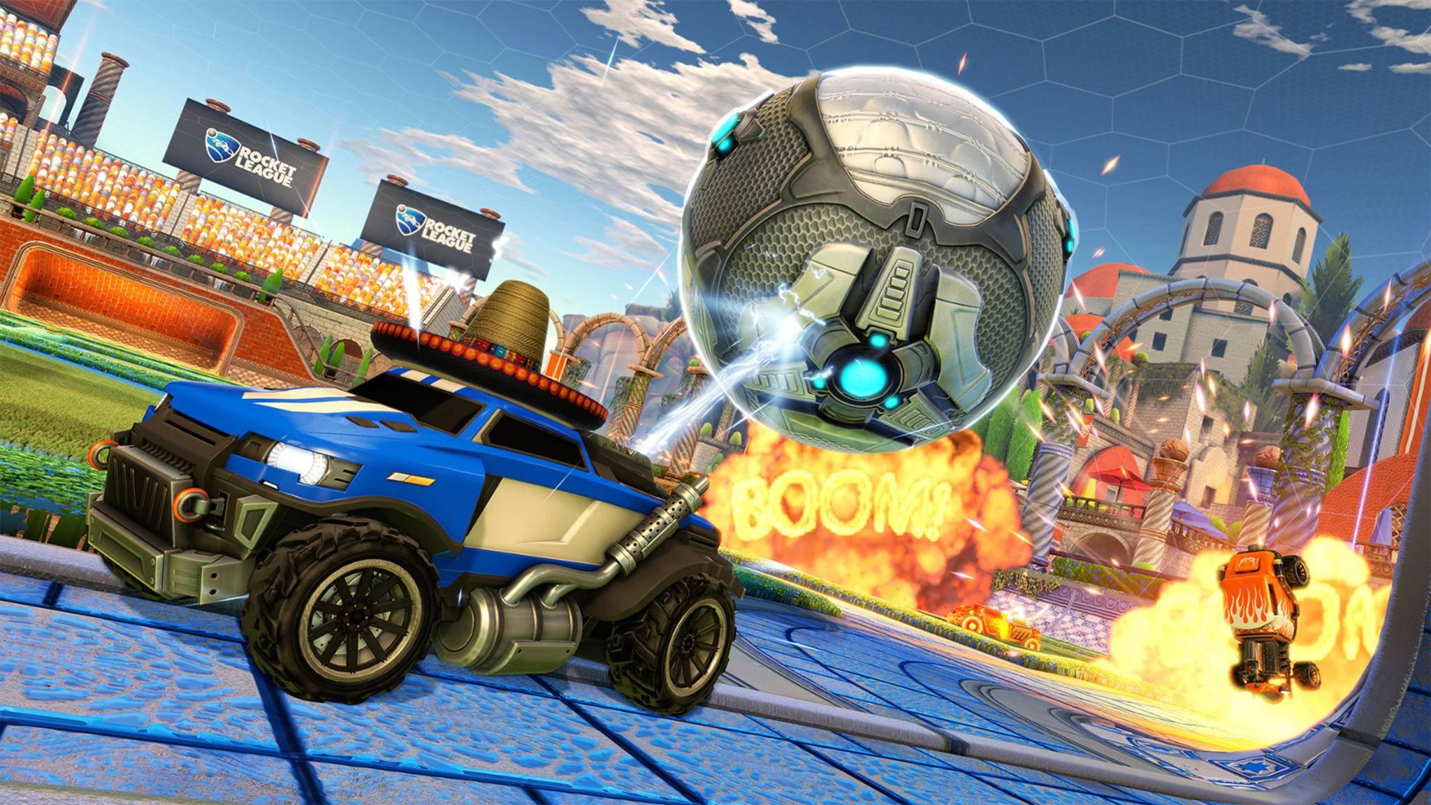 """""""Rocket League"""" ist ein Multiplayer-Kracher – und zwar über Plattformgrenzen hinweg."""