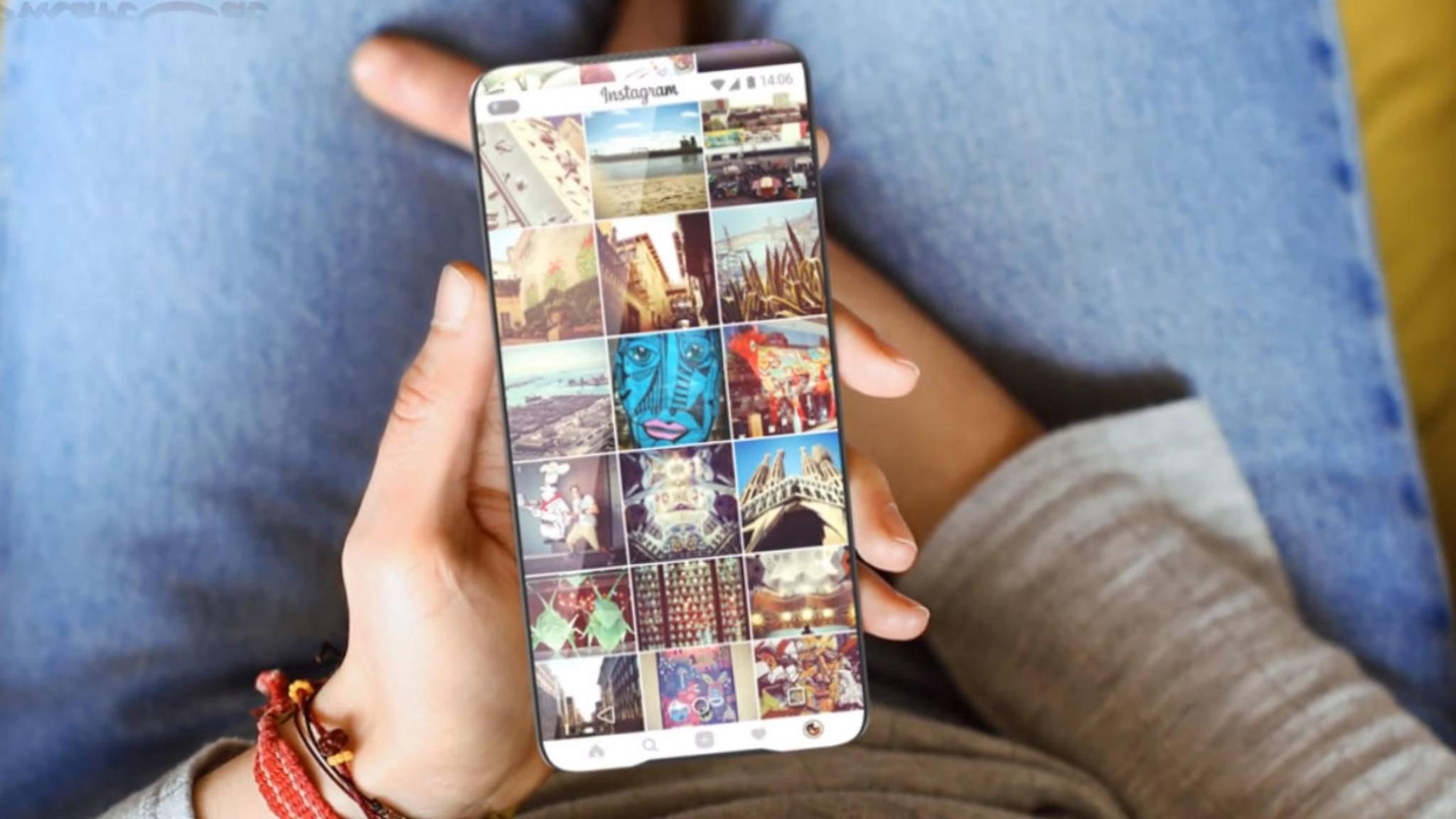 Samsung hat ein Patent eingereicht, in dem das Smartphone nur noch aus Display besteht.