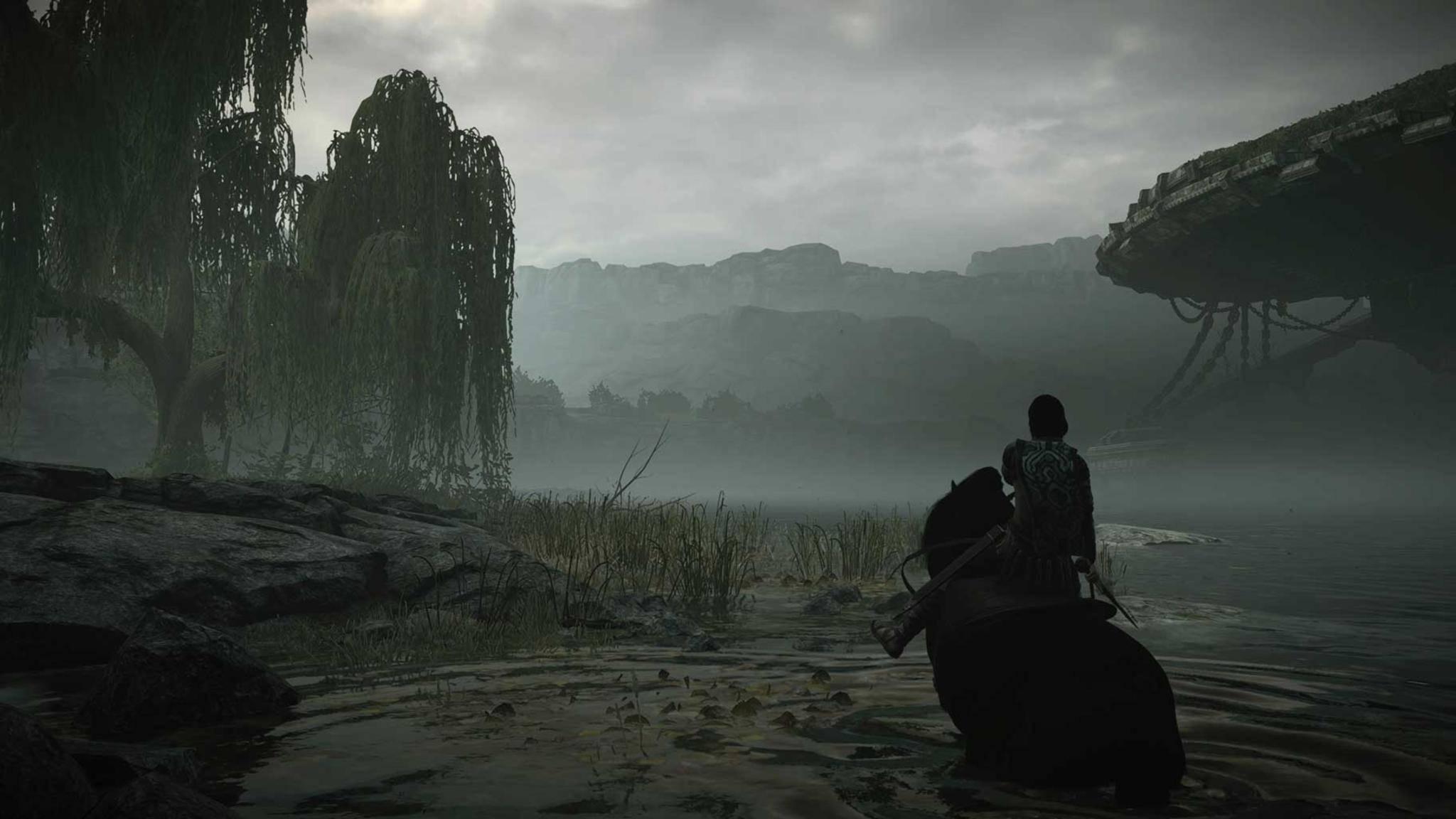 Dem Original treugeblieben: Die Landschaft ist trotz ihrer neuen Schönheit wiederzuerkennen.