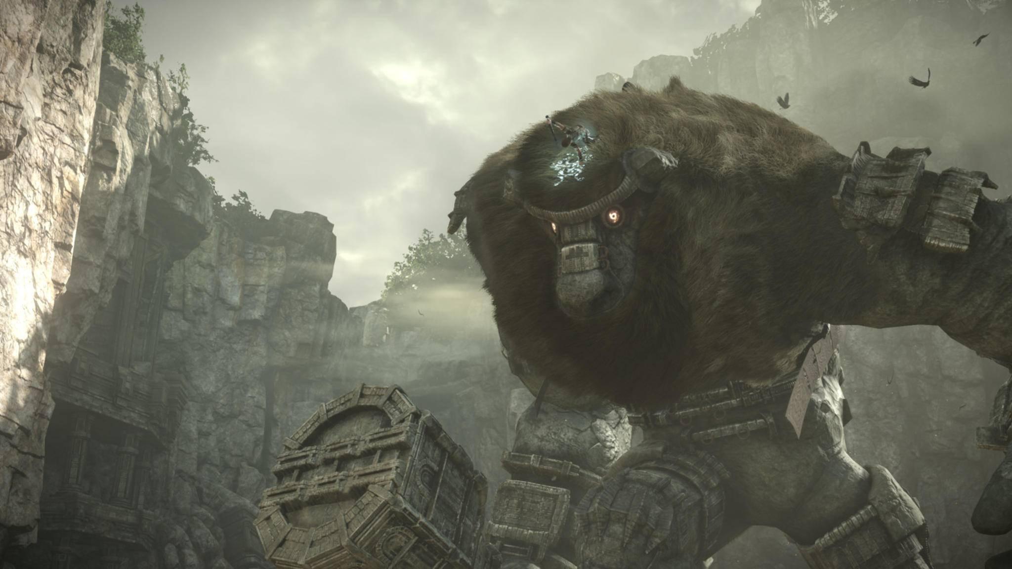 """""""Shadow of the Colossus"""" macht Ingame-Fotografen glücklich."""