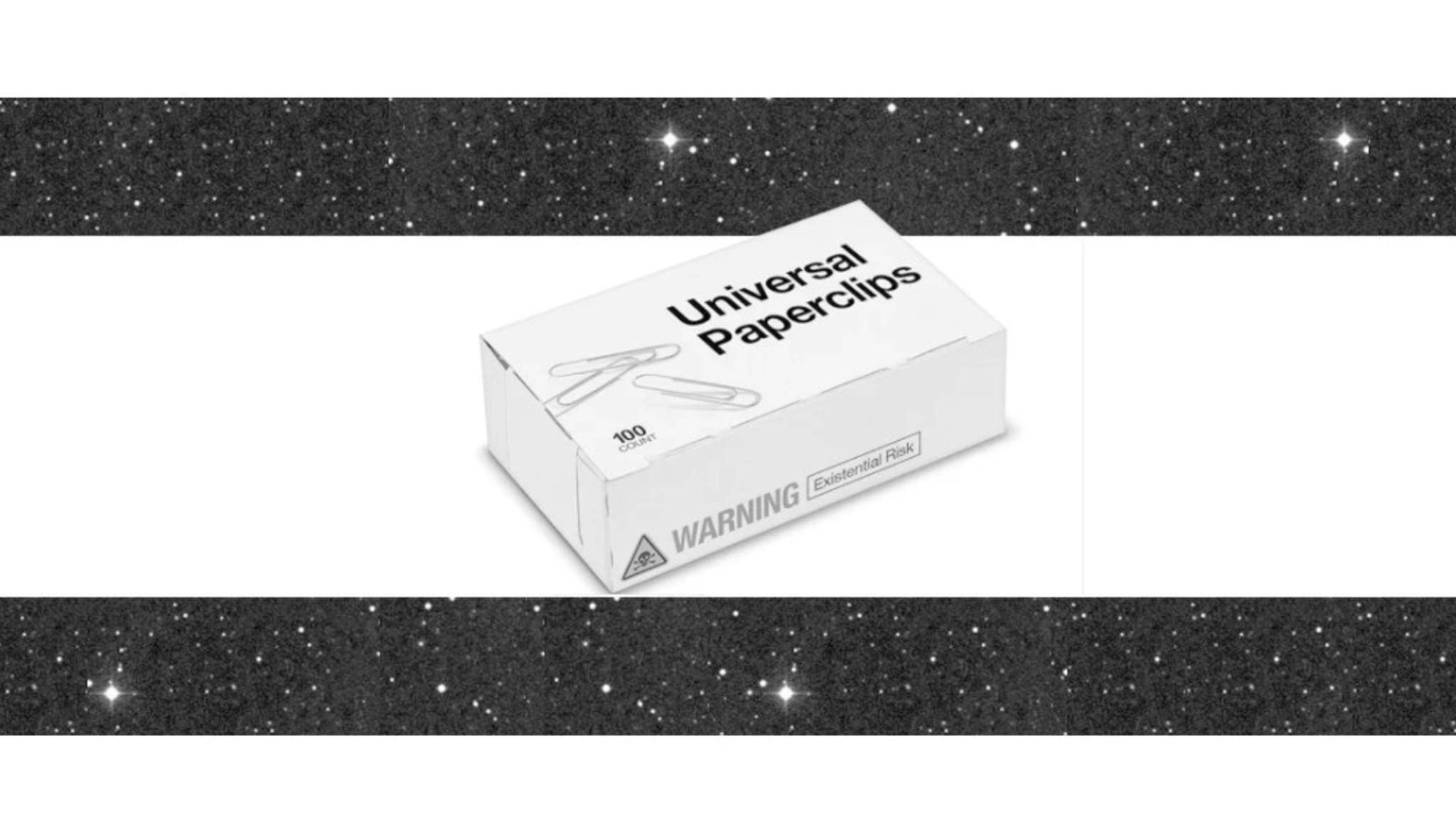 """""""Universal Paperclips"""" sieht harmlos aus, hat es aber in sich."""