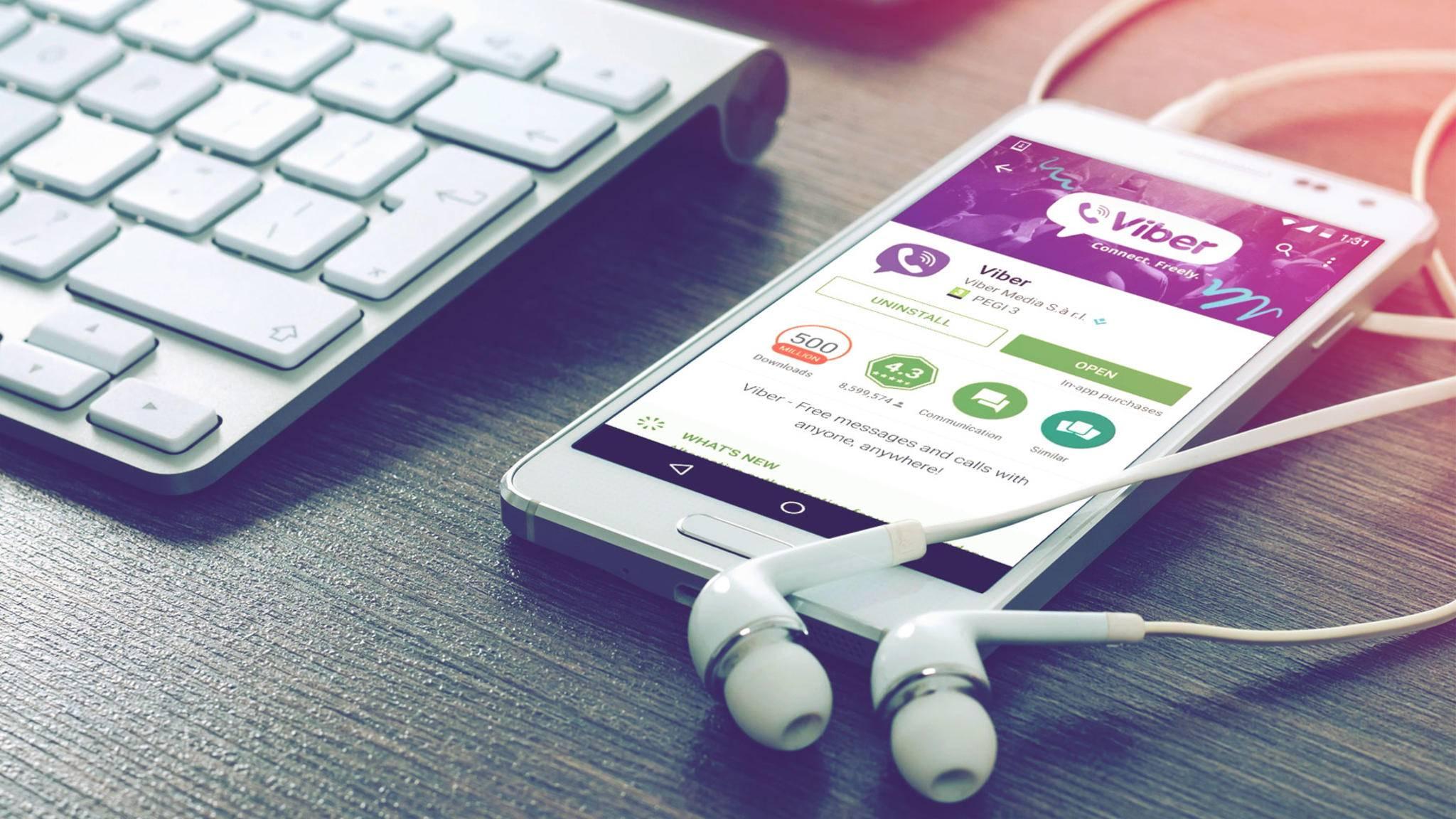 Viber ist eine FaceTime-Alternative, mit der Du kostenlos Videogespräche führen kannst.