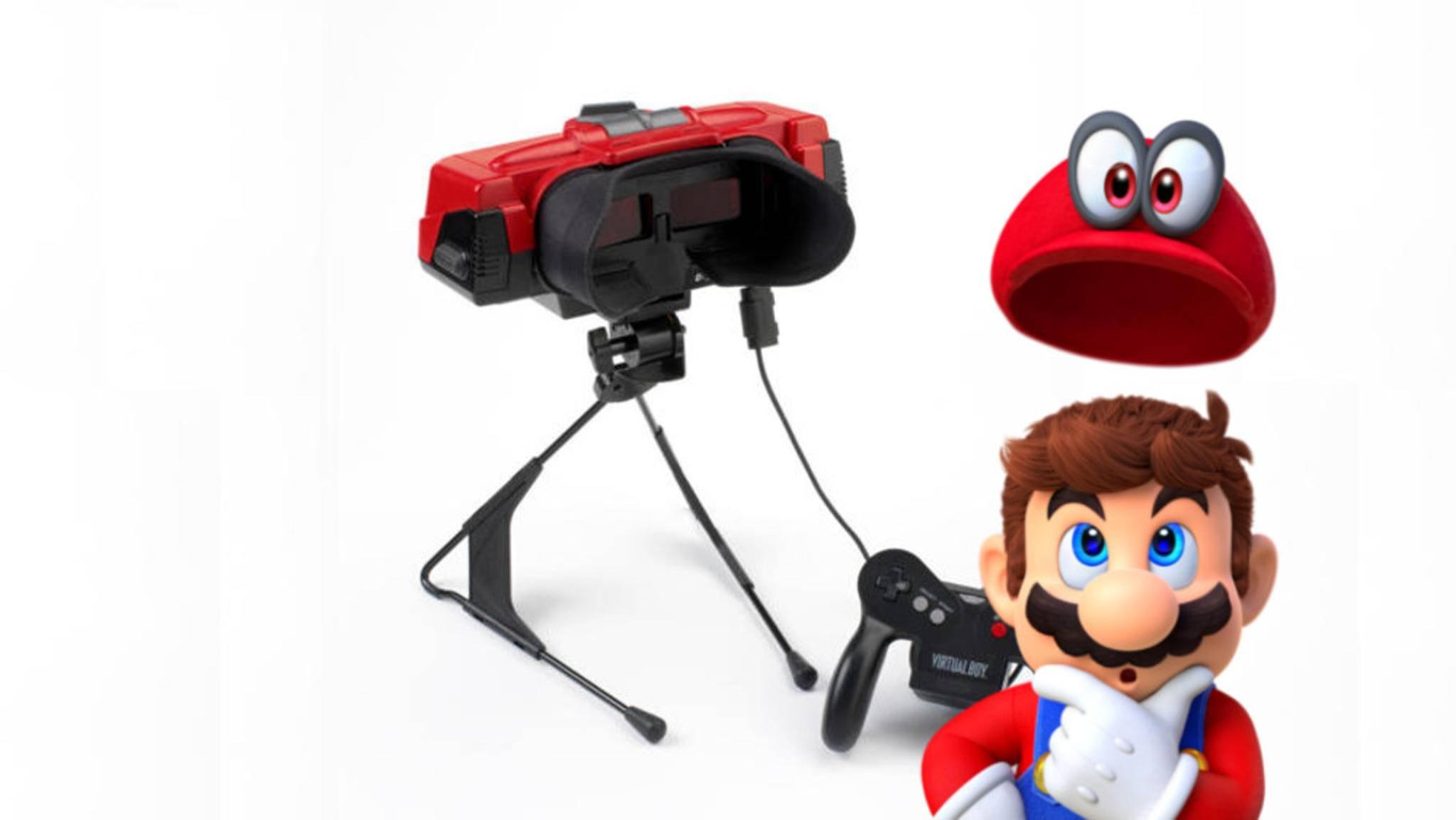 Was hat sich Nintendo bloß beim Virtual Boy aus dem Jahr 1995 gedacht?