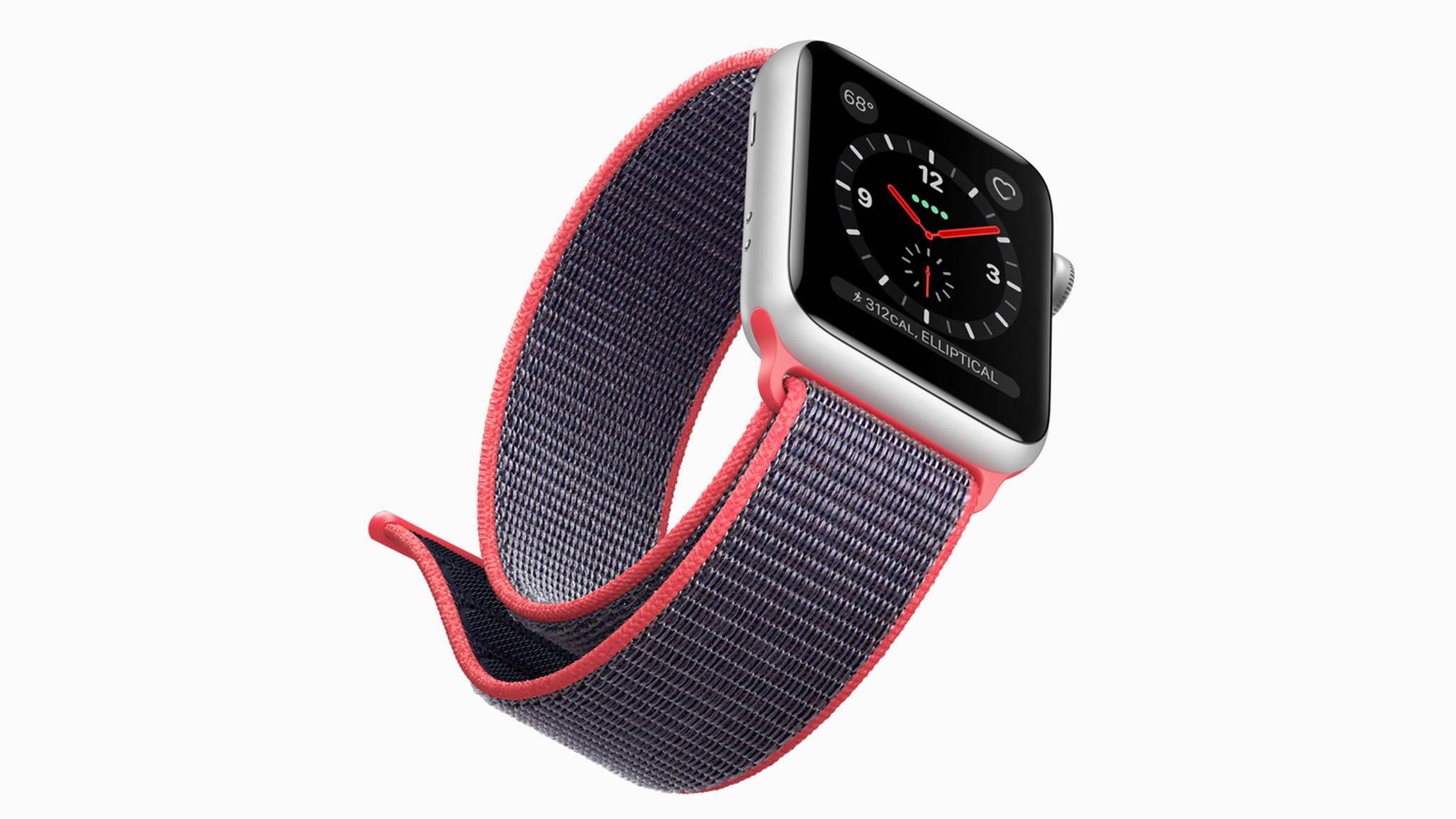 Künftig kann die Apple Watch auch Waschmaschine und Co. steuern.