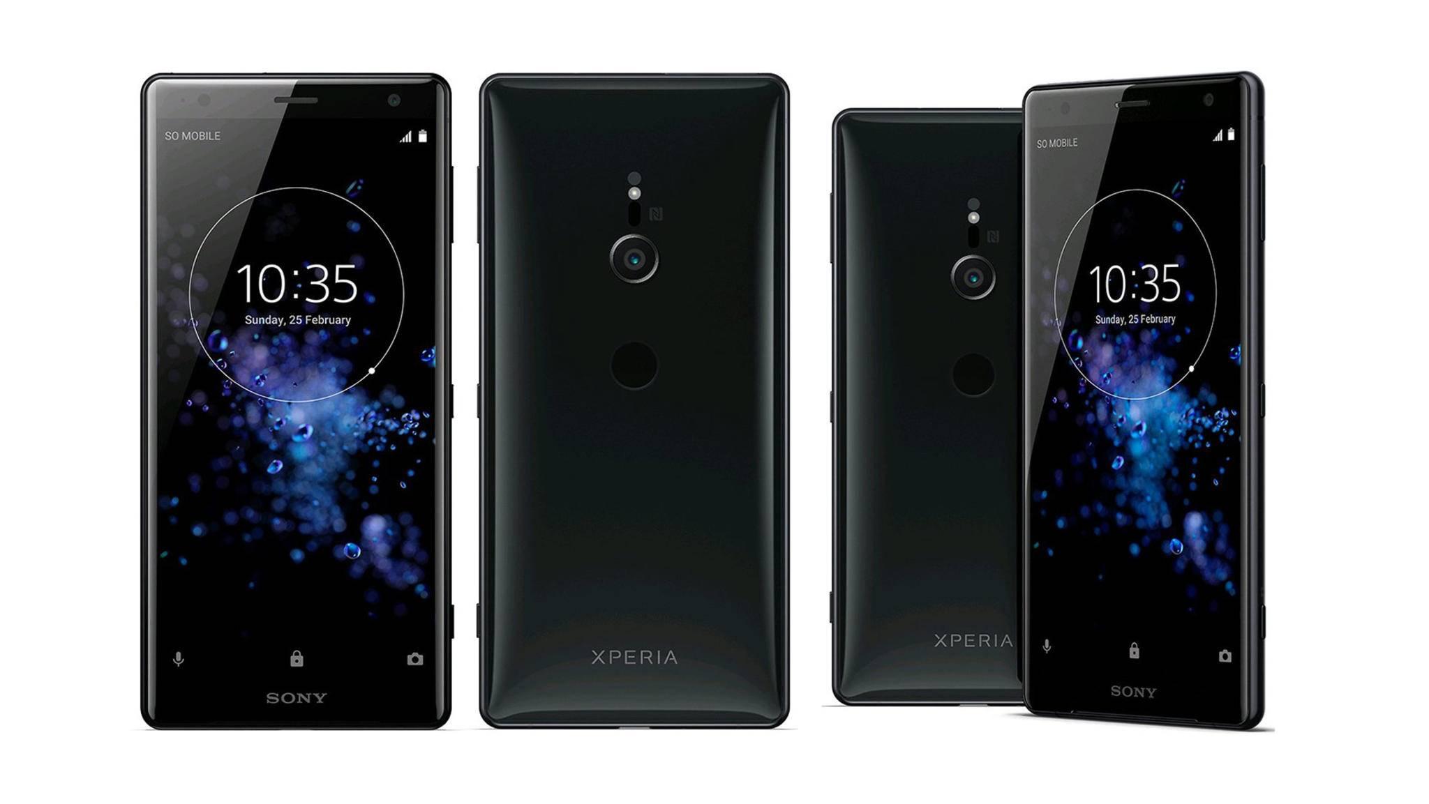 Sony Xperia XZ2 (Compact): Pressebilder & Details durchgesickert