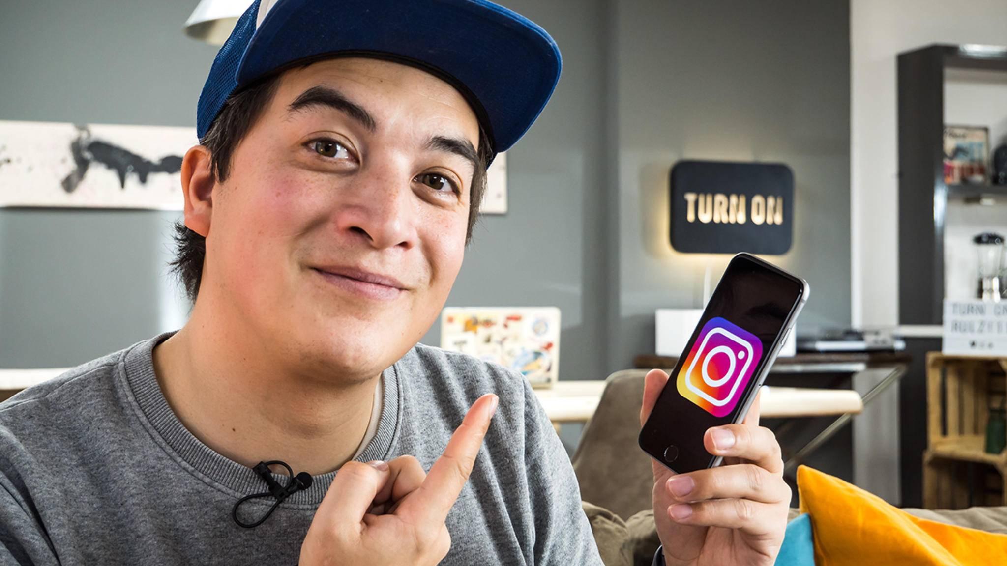 Wir nutzen Instagram unter anderem für tolle Fotos von neuen Gadgets.