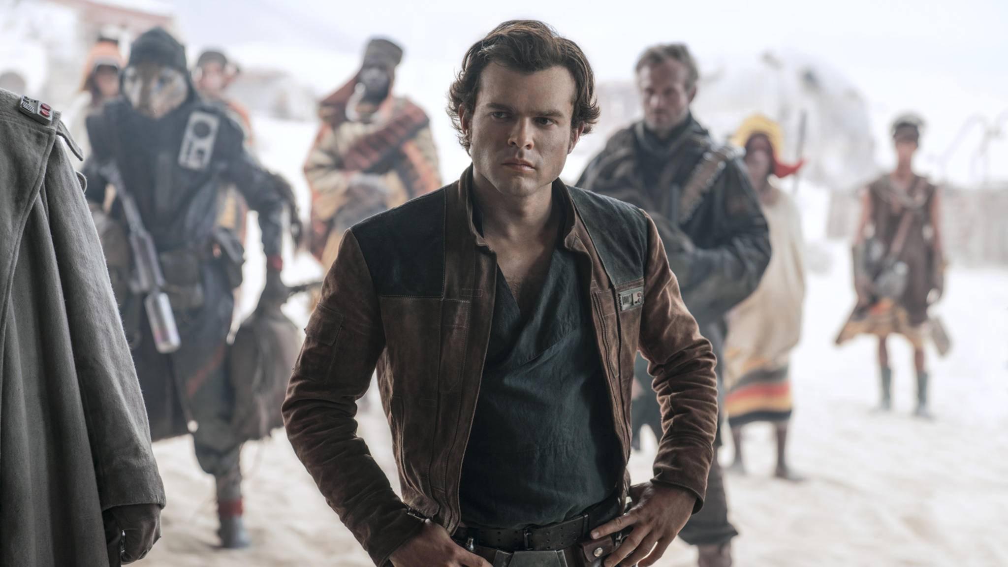 Han Solo bekommt es in seinem ersten Auftritt als Hauptfigur mit ganz neuen Gegnern zu tun.