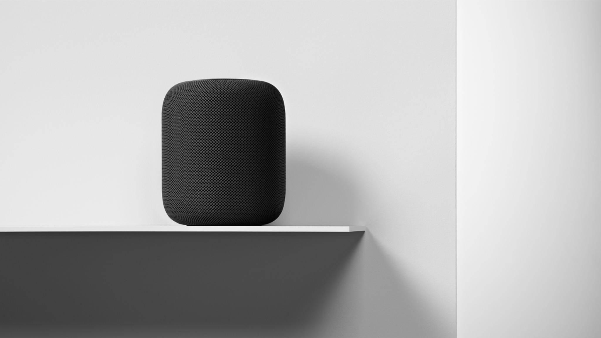Der Apple HomePod erscheint am 18. Juni in Deutschland.