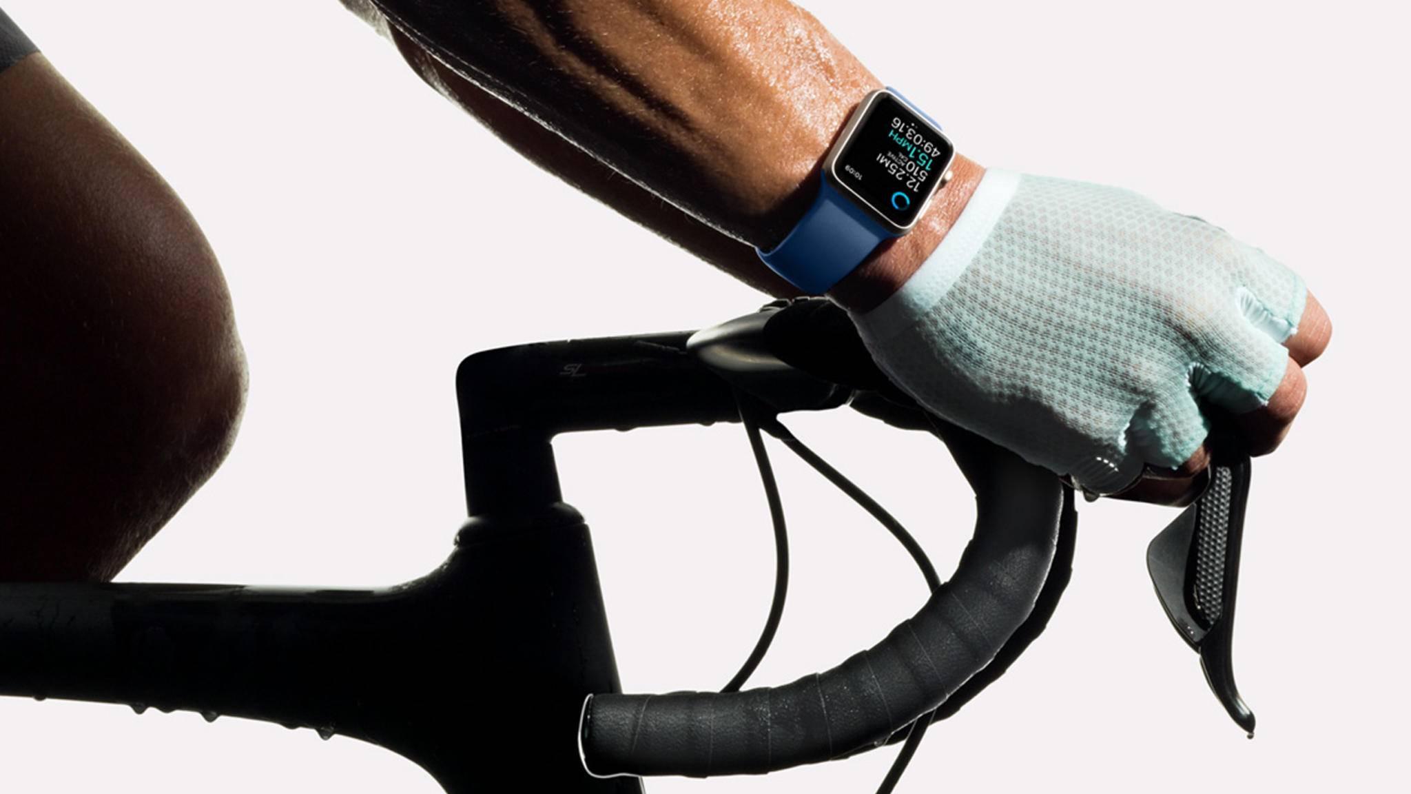 Die Apple Watch entwickelt ich auch für Radfahrer zum immer zuverlässigeren Begleiter.