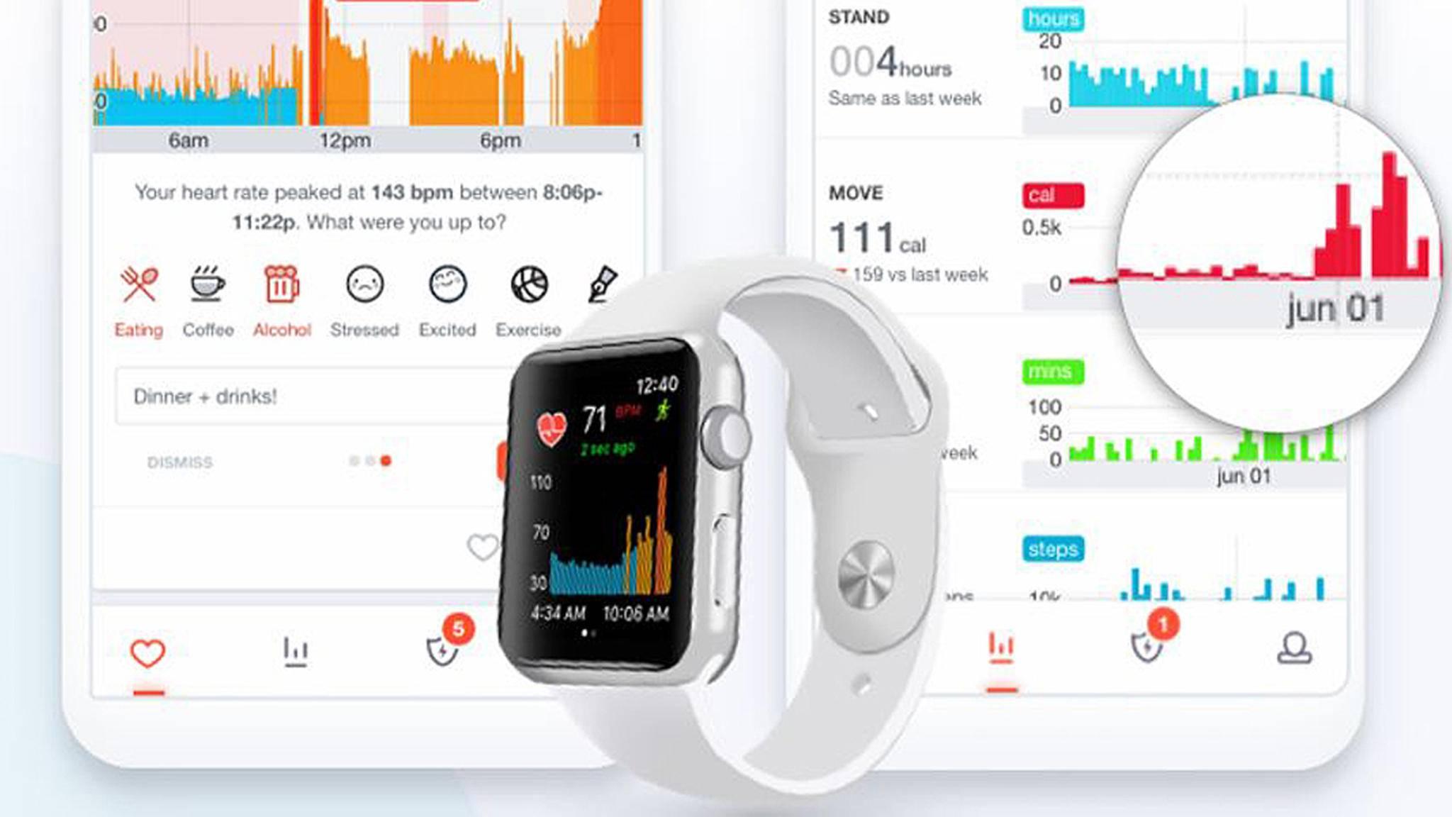 Dank DeepHeart kann die Apple Watch schon jetzt verschiedene Krankheiten erkennen.