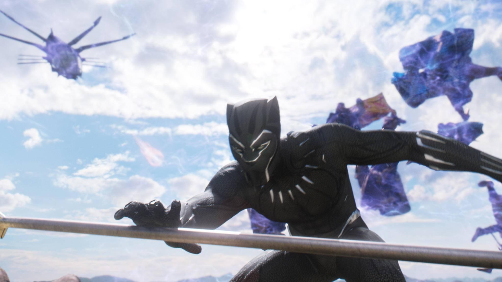 """""""Black Panther"""" streckt die Krallen nun nach den heimischen Bildschirmen aus."""