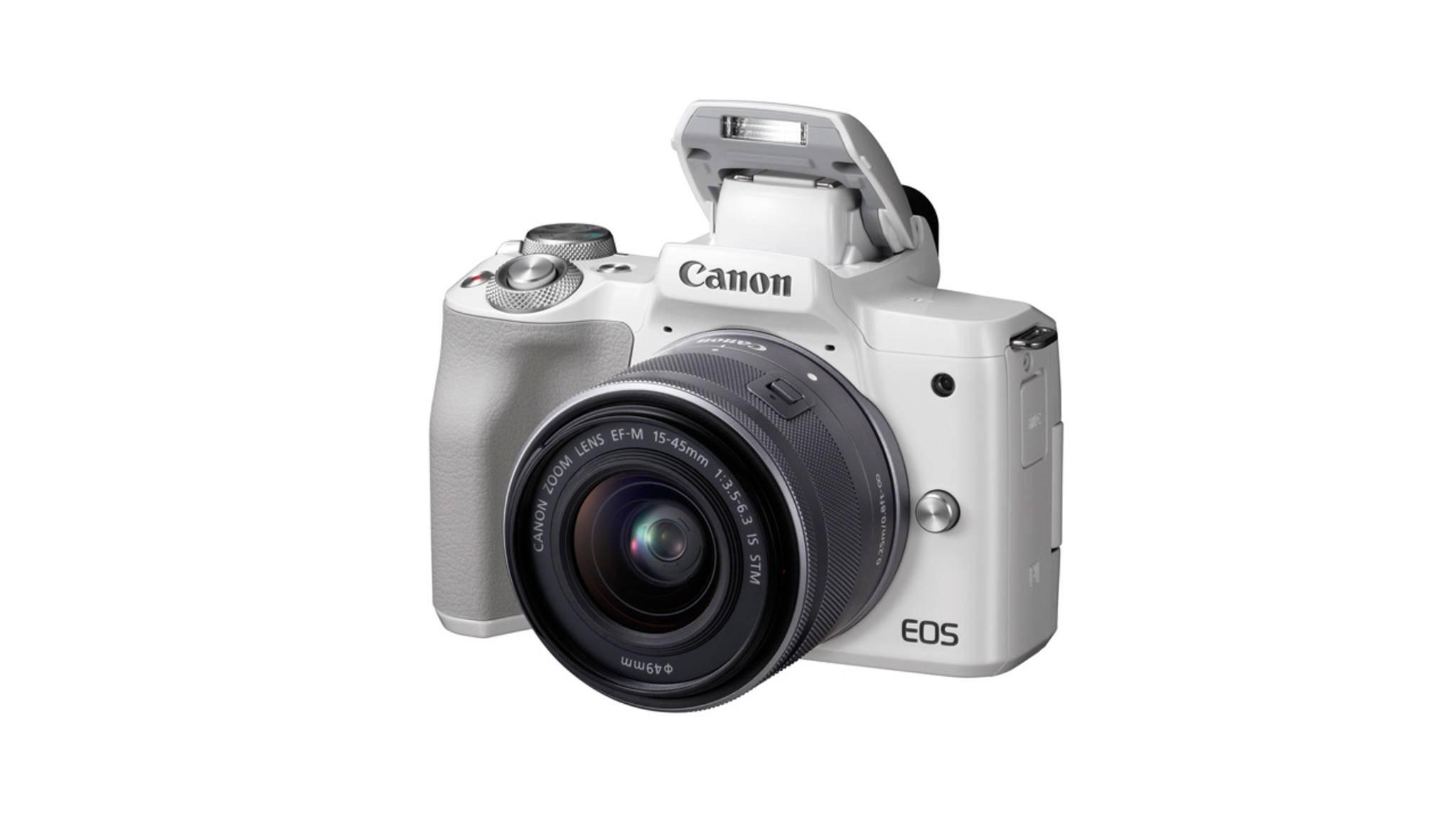 Die Canon EOS M50 dreht Videos in 4K.