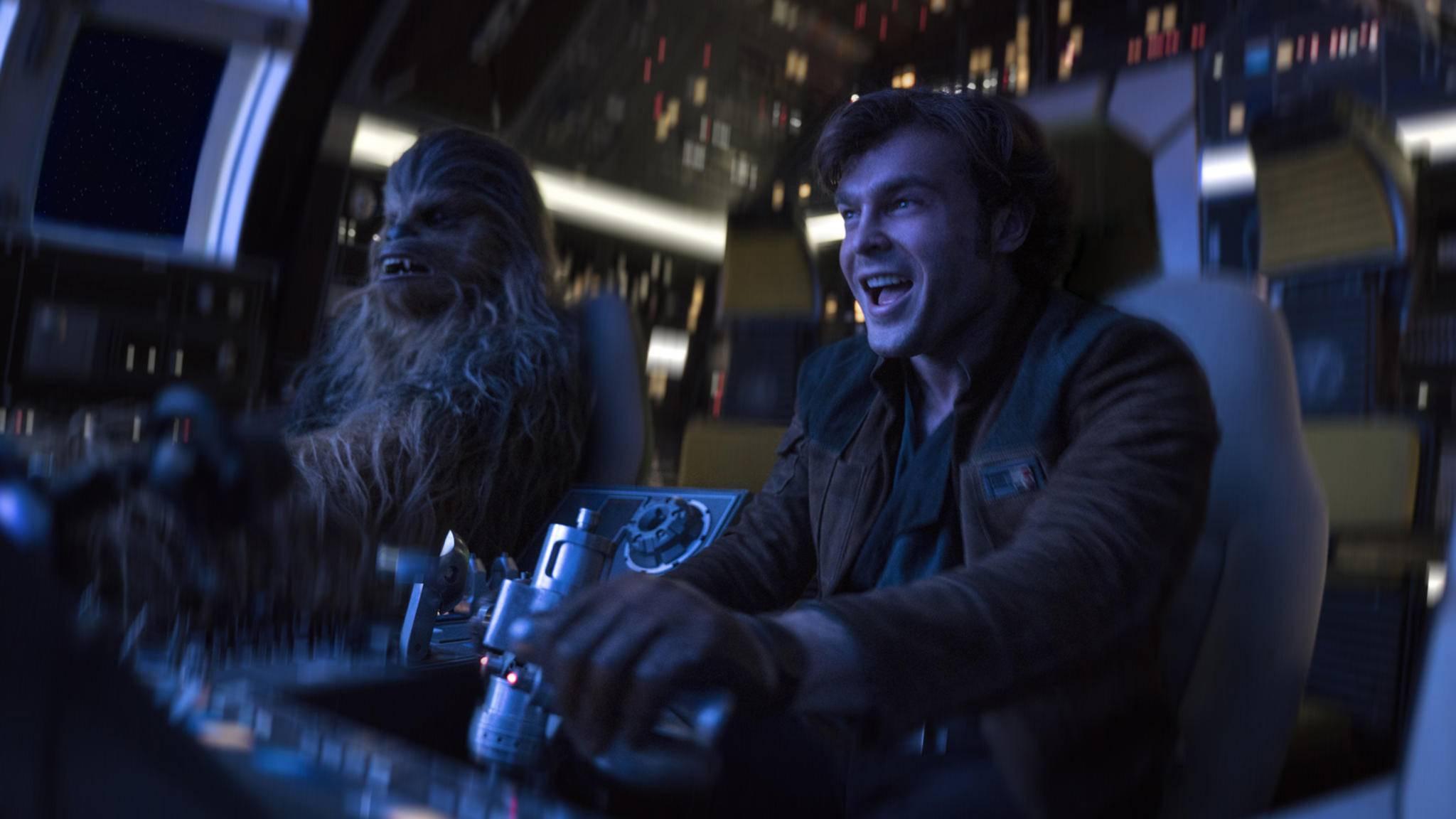 """Der Humor steht in """"Solo: A Star Wars Story"""" offenbar im Fokus."""