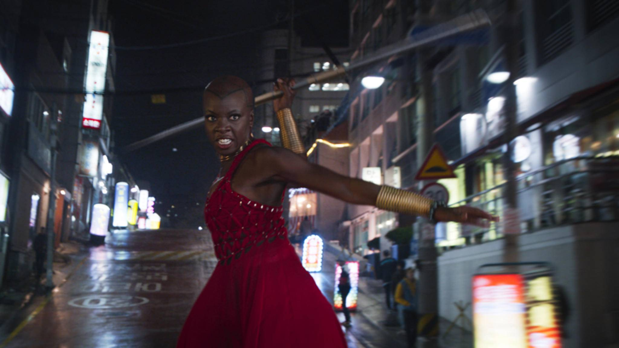 Okoye kämpft sich erneut auf die Leinwand!