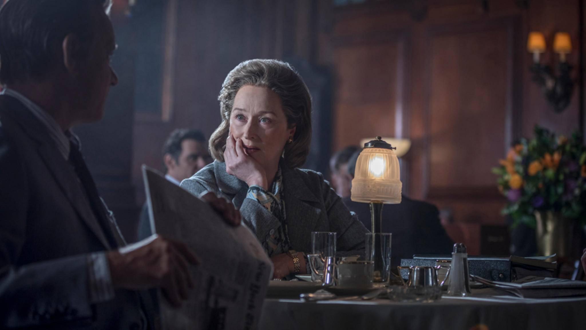 """Mit ihrer Hauptrolle in """"Die Verlegerin"""" könnte Meryl Streep ihren nächsten Academy Award bekommen."""