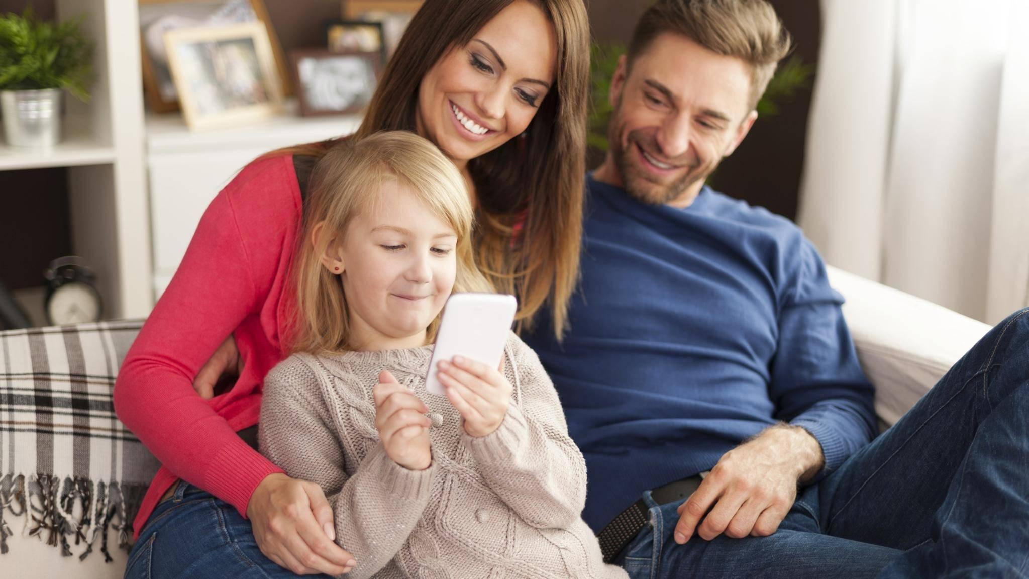 Eltern können nun ein Google-Konto für ihr Kind einrichten und es verwalten.