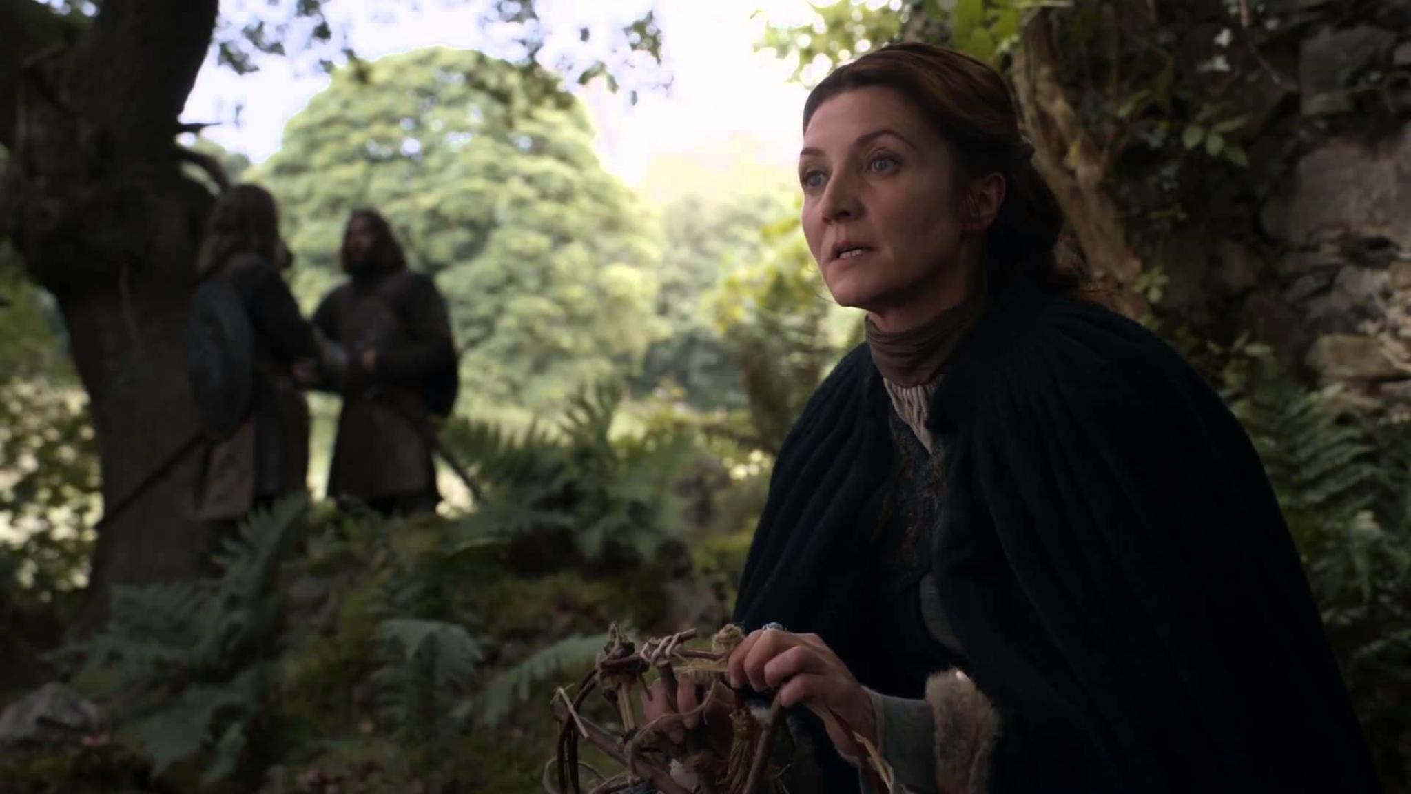 Catelyn Stark ist eine geborene Tully und stammt aus den Flusslanden.