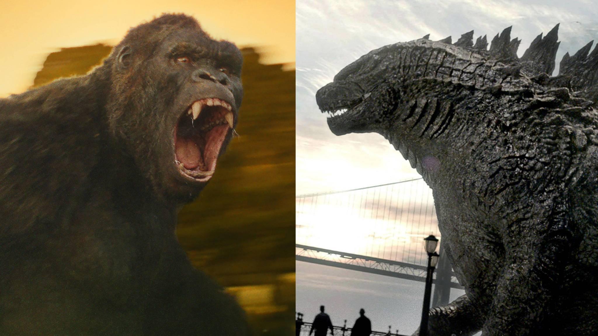 Bald treffen King Kong und Godzilla auf der großen Leinwand aufeinander.