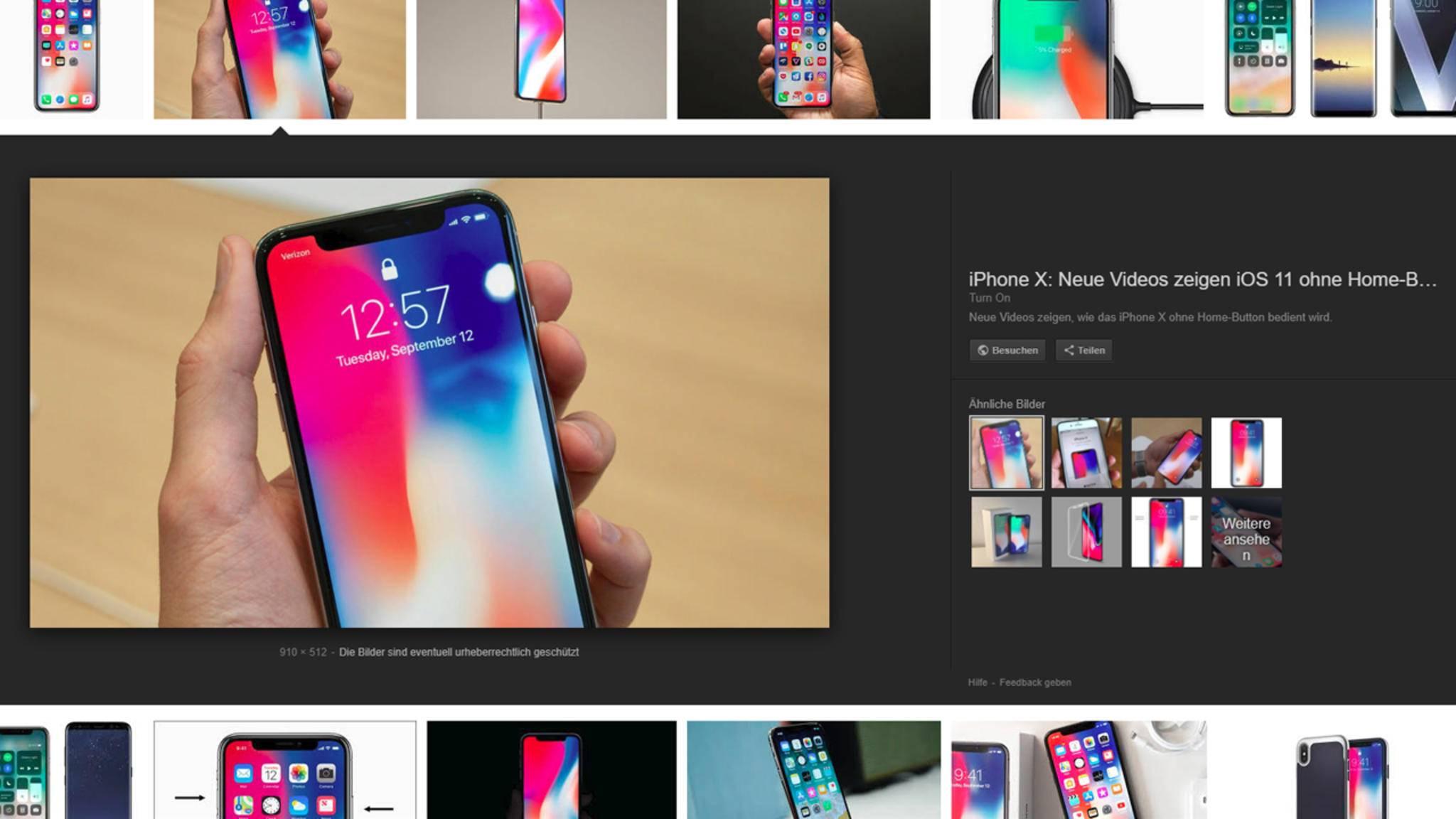Google entfernt beliebte Taste aus der Bildersuche