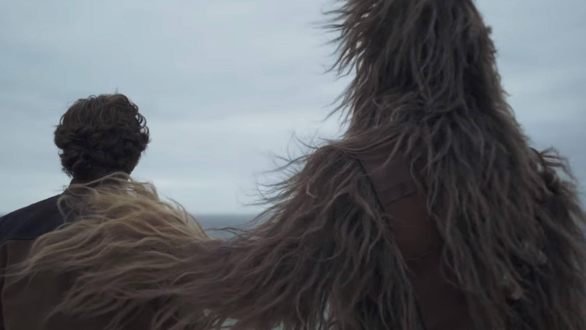 In guten wie in schlechten Zeiten: Han Solo und Chewbacca.