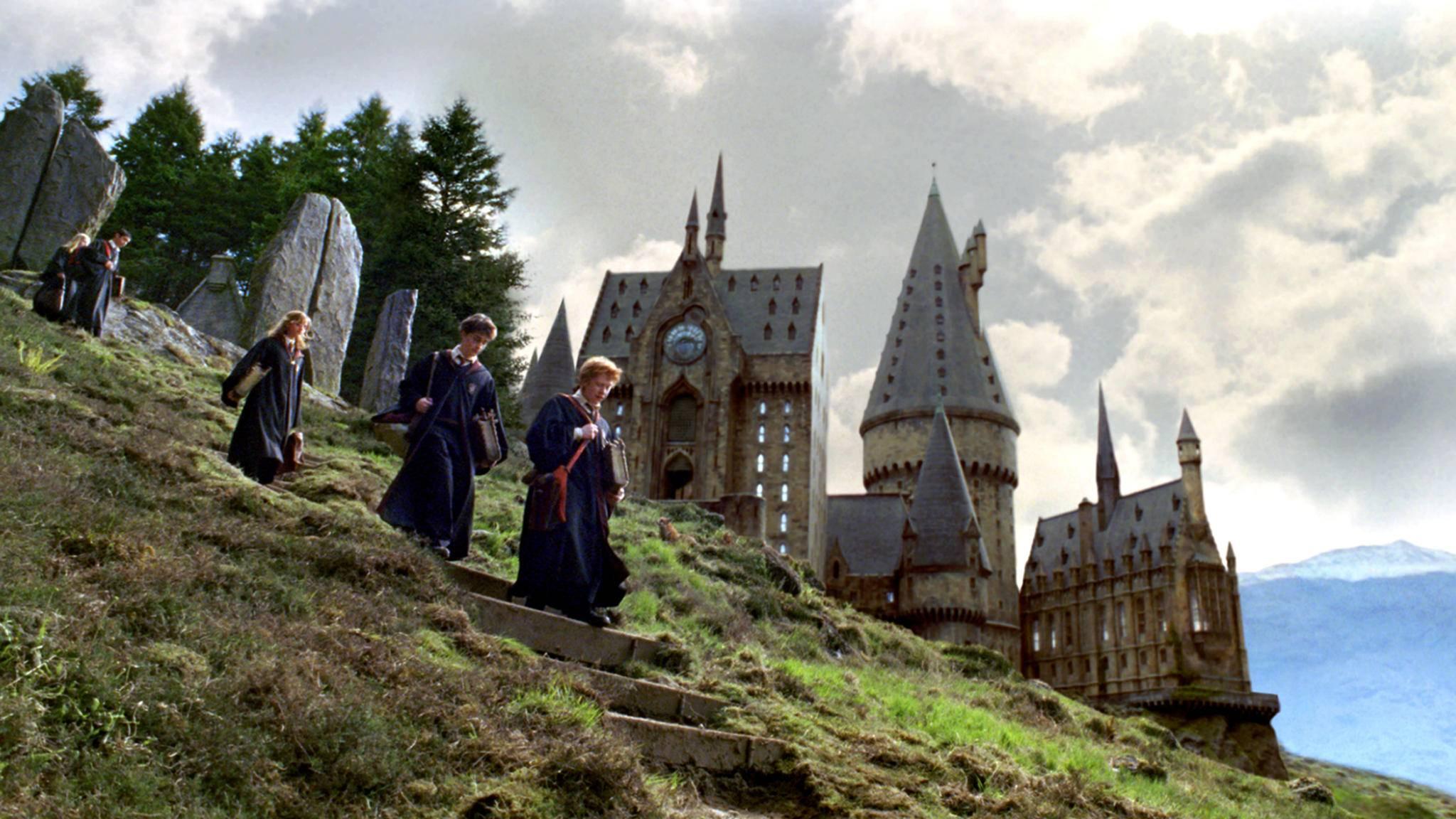 Die Schüler von Hogwarts werden passend zu ihren Eigenschaften auf vier Häuser verteilt.